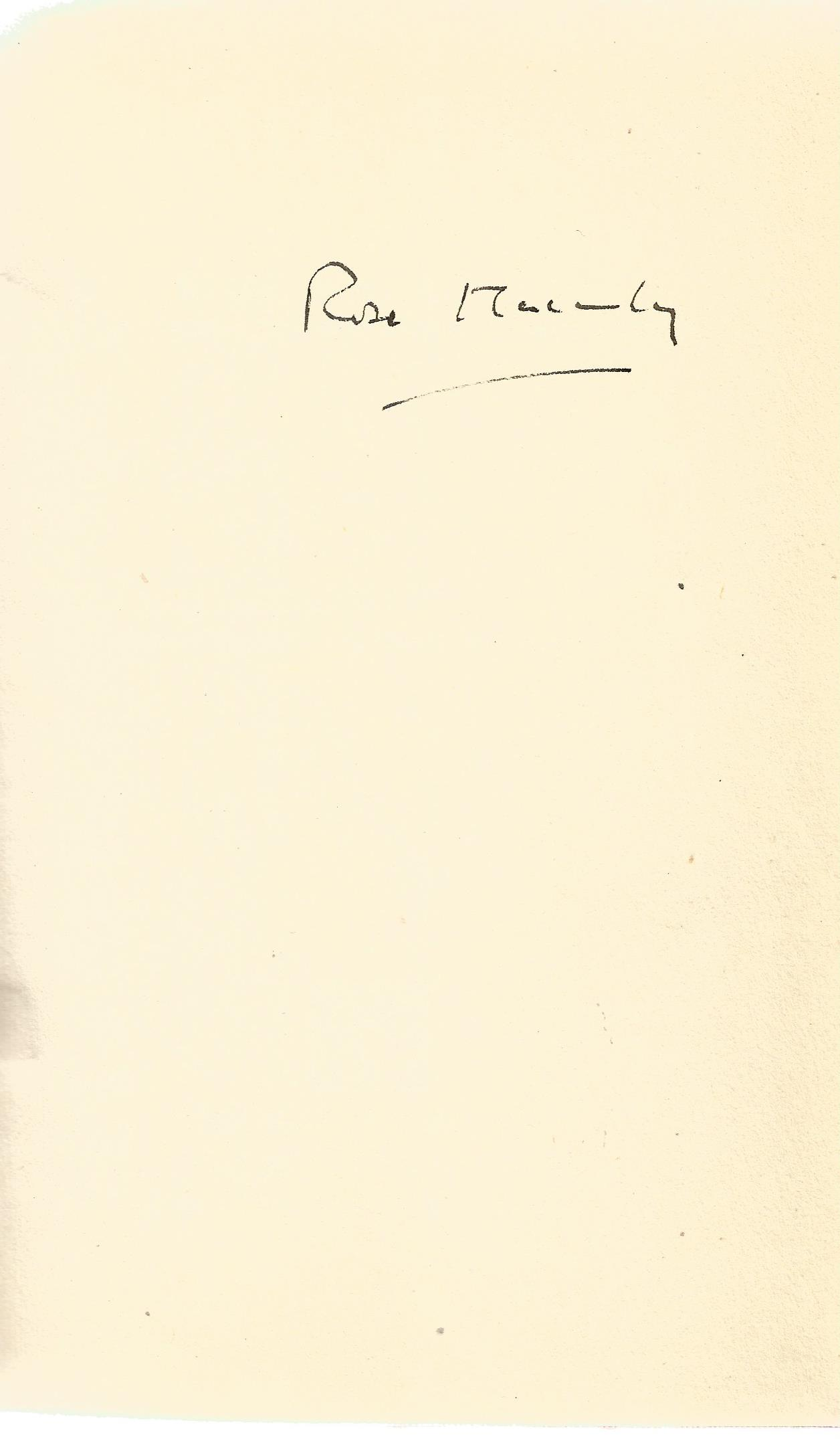 Signed Hardback Book Crewe Train by Rose Macaulay signed by the Author on the first page First - Image 3 of 3