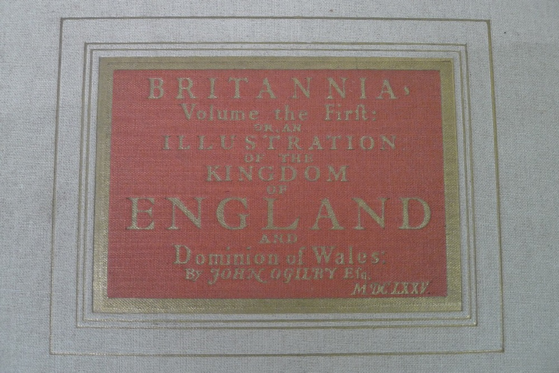 A facsimile reprint of Britannia: Volume The First or an Illustration of the Kingdom of England - Image 2 of 7