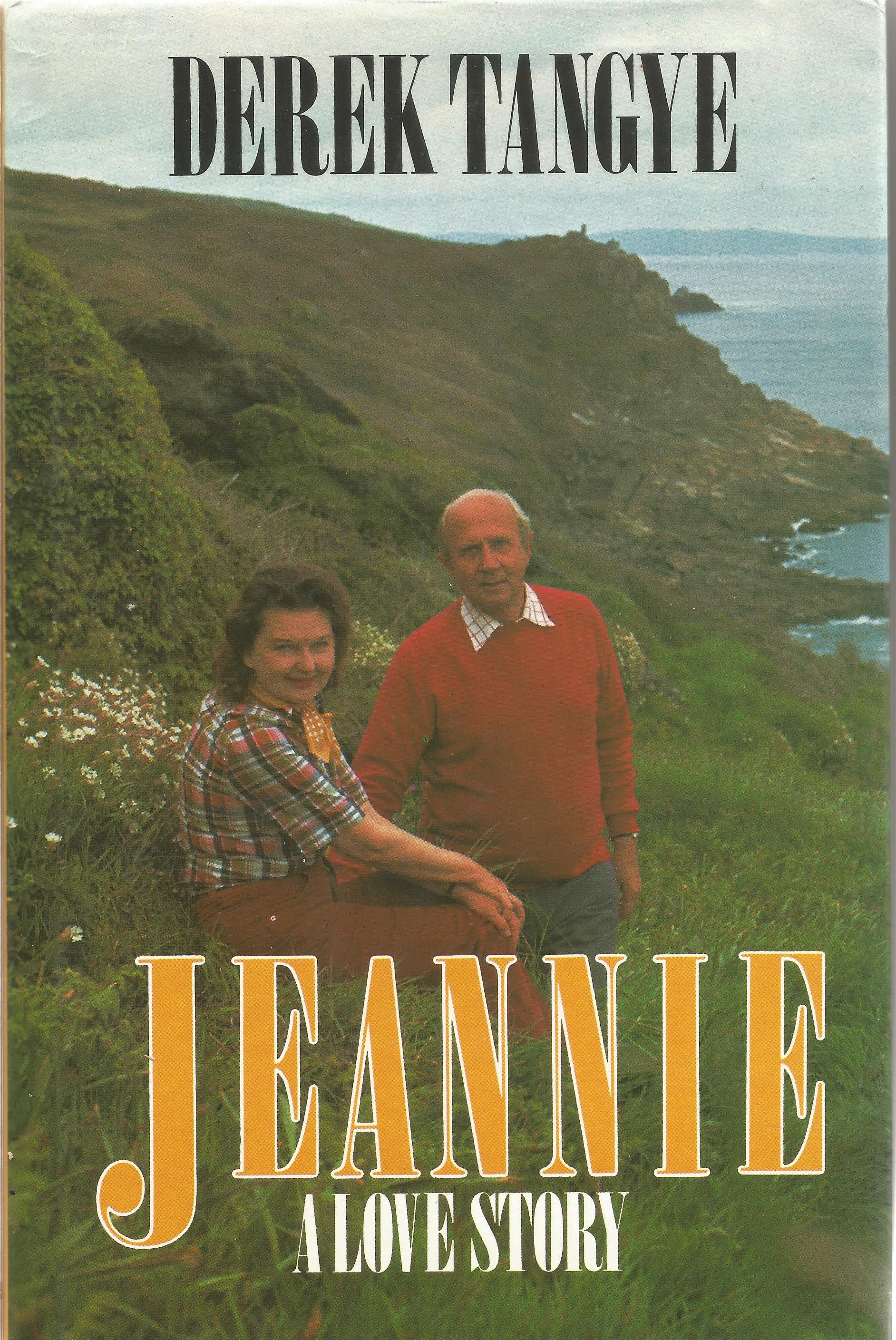 Derek Tangye Hardback Book Jeannie A Love Story signed by the Author on the First Page First Edition