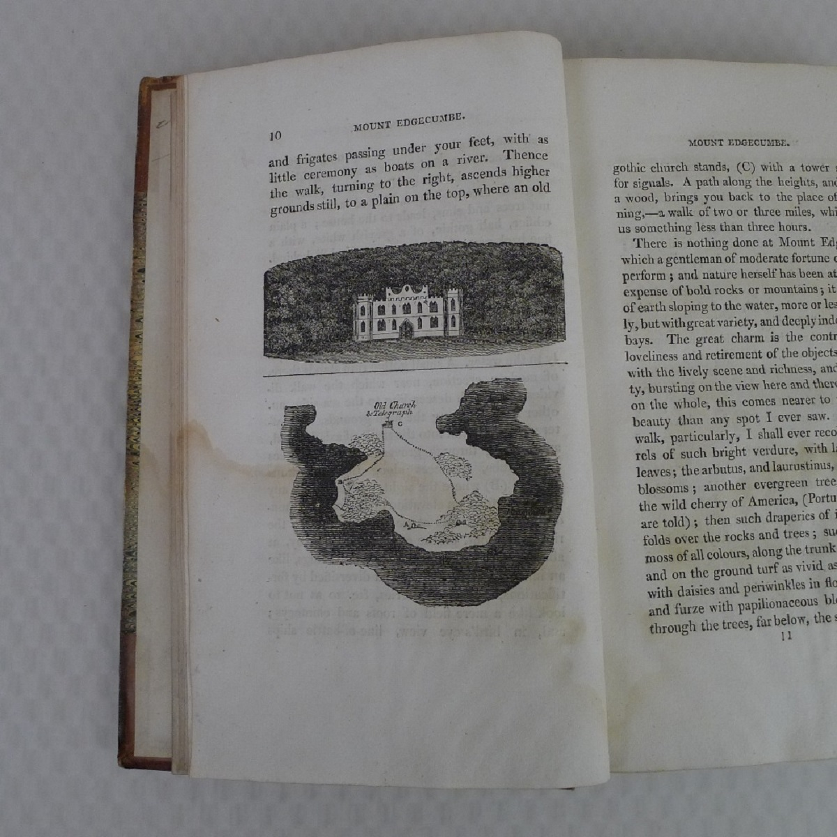 Simond's Travels in Great Britain Volumes I and II, Second Edition published in 1817, being a - Image 6 of 9