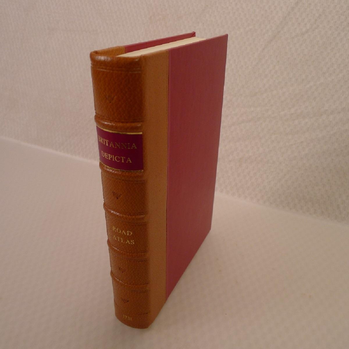 A facsimile reprint of Britannia Depicta 1731 by Emmanuel Bowen published by Britannia