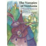 Miranda Seymour Hardback Book The Vampire of Verdonia signed by the Illustrator Alicia Garcia de