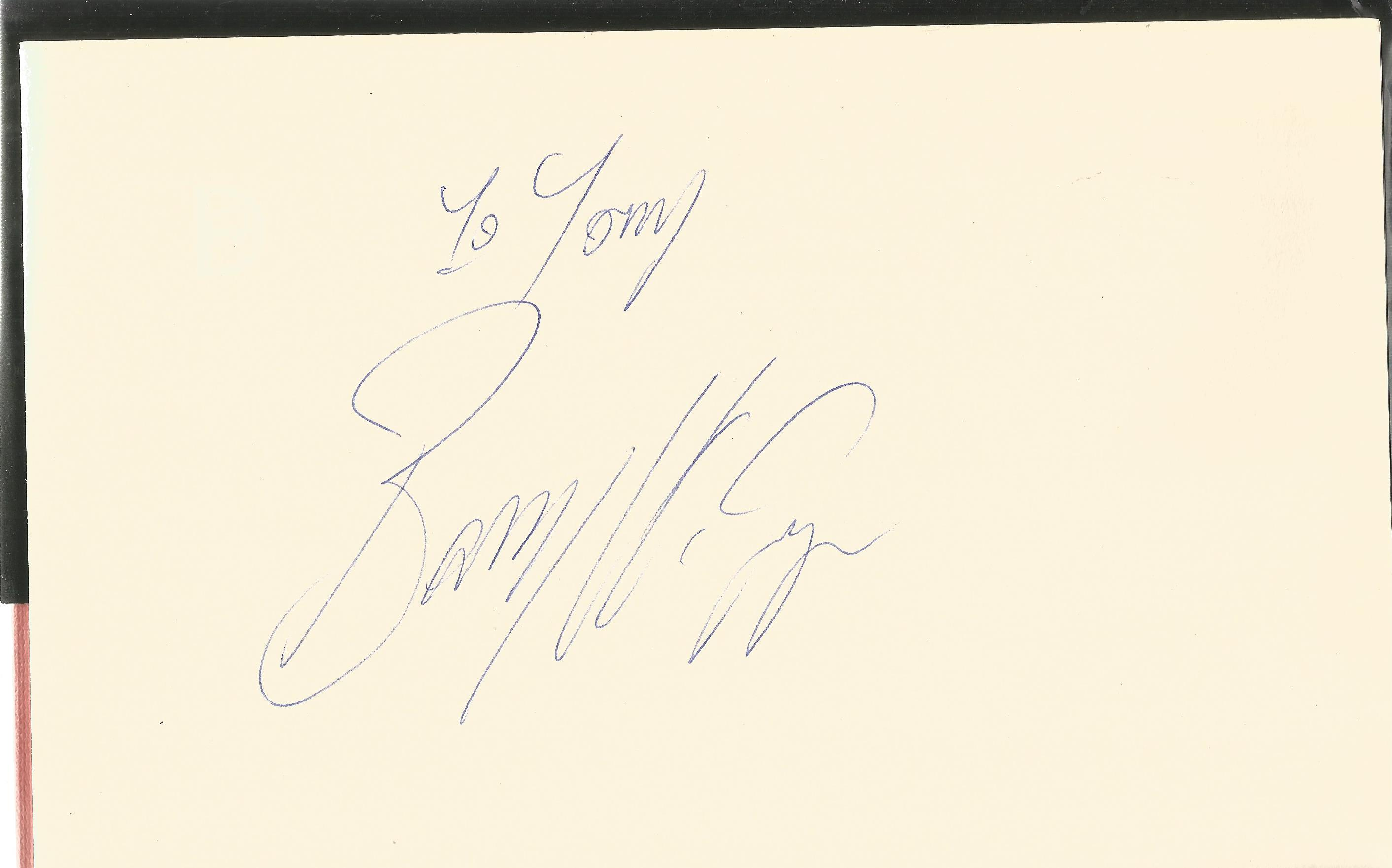 Jim Sheridan Hardback Book Leave the Fighting to McGuigan 1985 signed opposite the Title Page by - Image 2 of 2