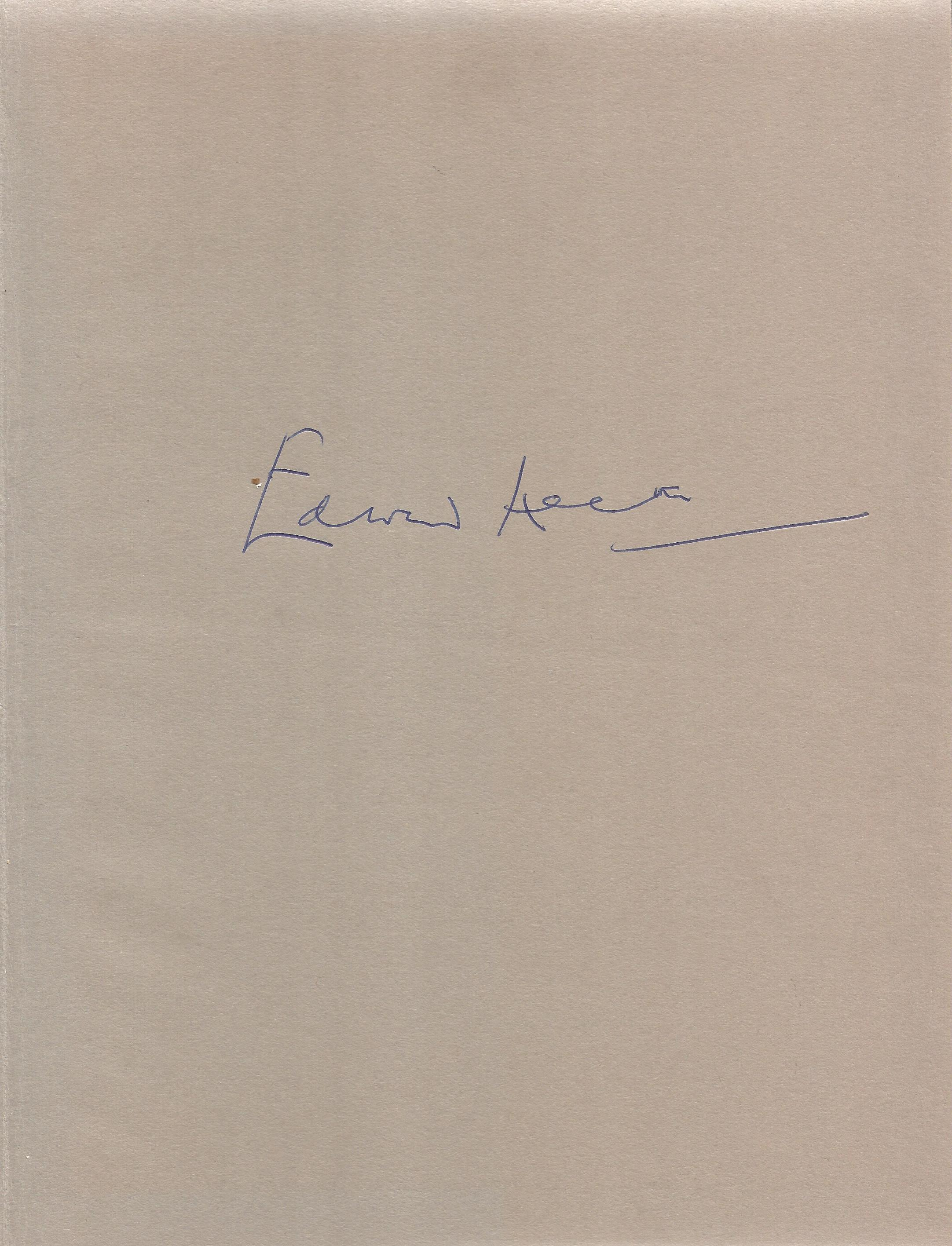 Edward Heath Signed Hardback Book Music A Joy for Life First Edition 1976 published by Sidgwick & - Image 4 of 4