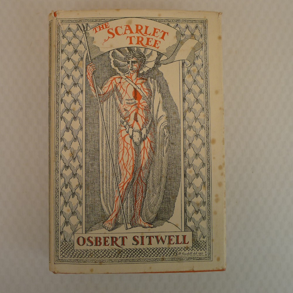 The Scarlet Tree by Osbert Sitwell published by MacMillan London 1946, First Edition hardback,
