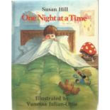 Susan Hill Hardback Book One night at a Time signed by the Author on the back of the Title Page