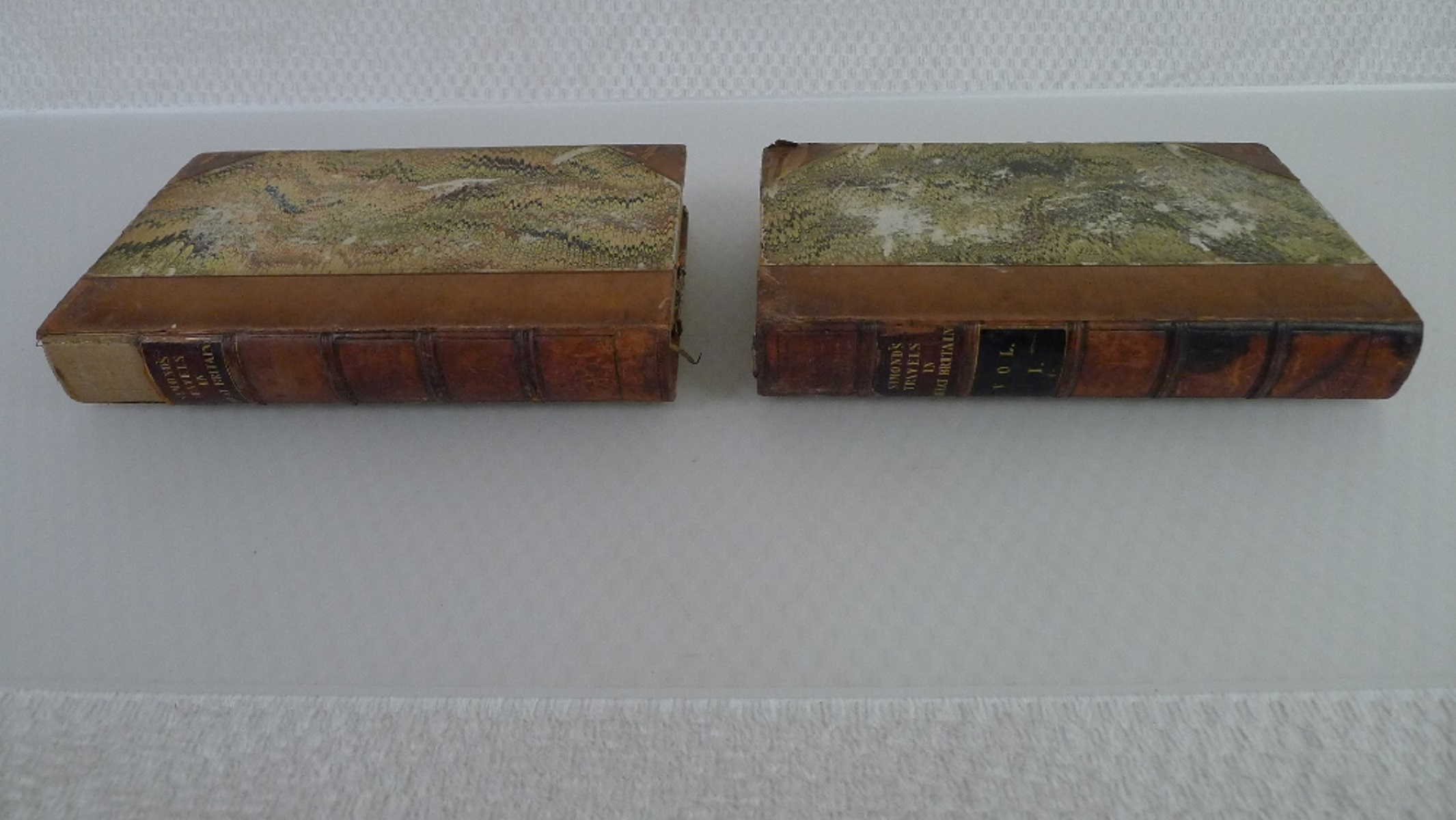 Simond's Travels in Great Britain Volumes I and II, Second Edition published in 1817, being a - Image 2 of 9