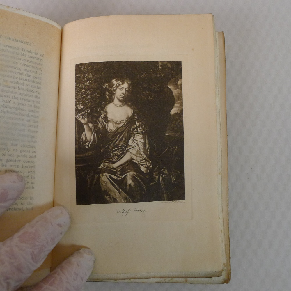 Memoirs of Count Grammont in two volumes by Count Anthony Hamilton with portraits, published by A - Image 8 of 8
