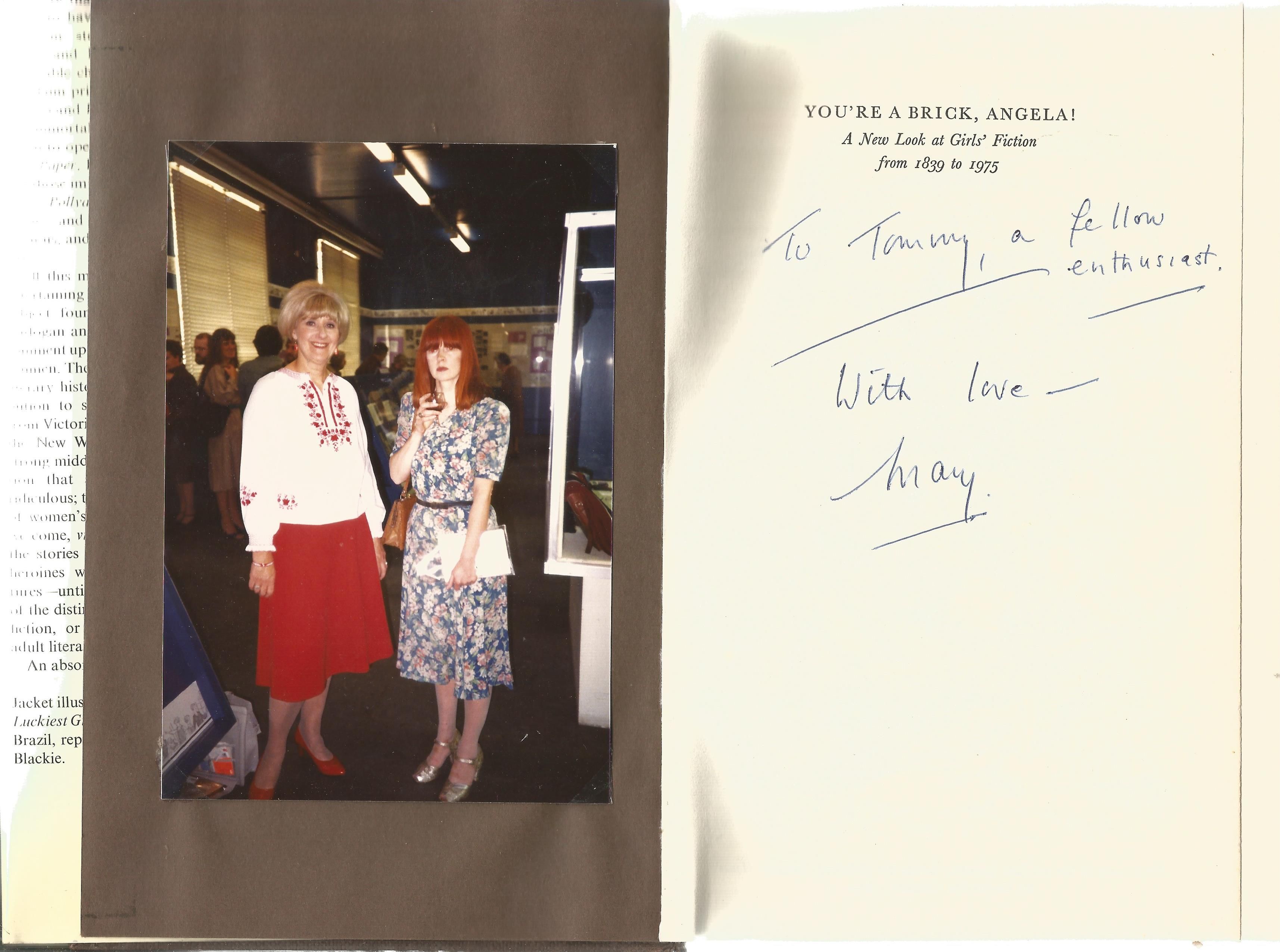 Mary Cadogan & Patricia Craig Hardback Book You're a brick Angela! a new look at Girl's Fiction from - Image 2 of 2