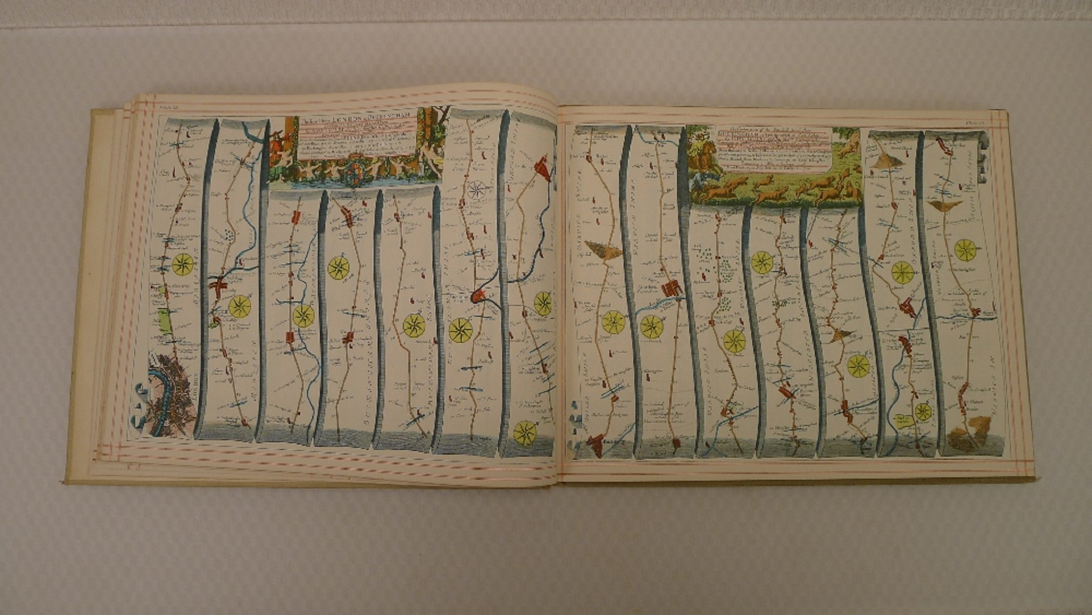 A facsimile reprint of Britannia: Volume The First or an Illustration of the Kingdom of England - Image 6 of 7
