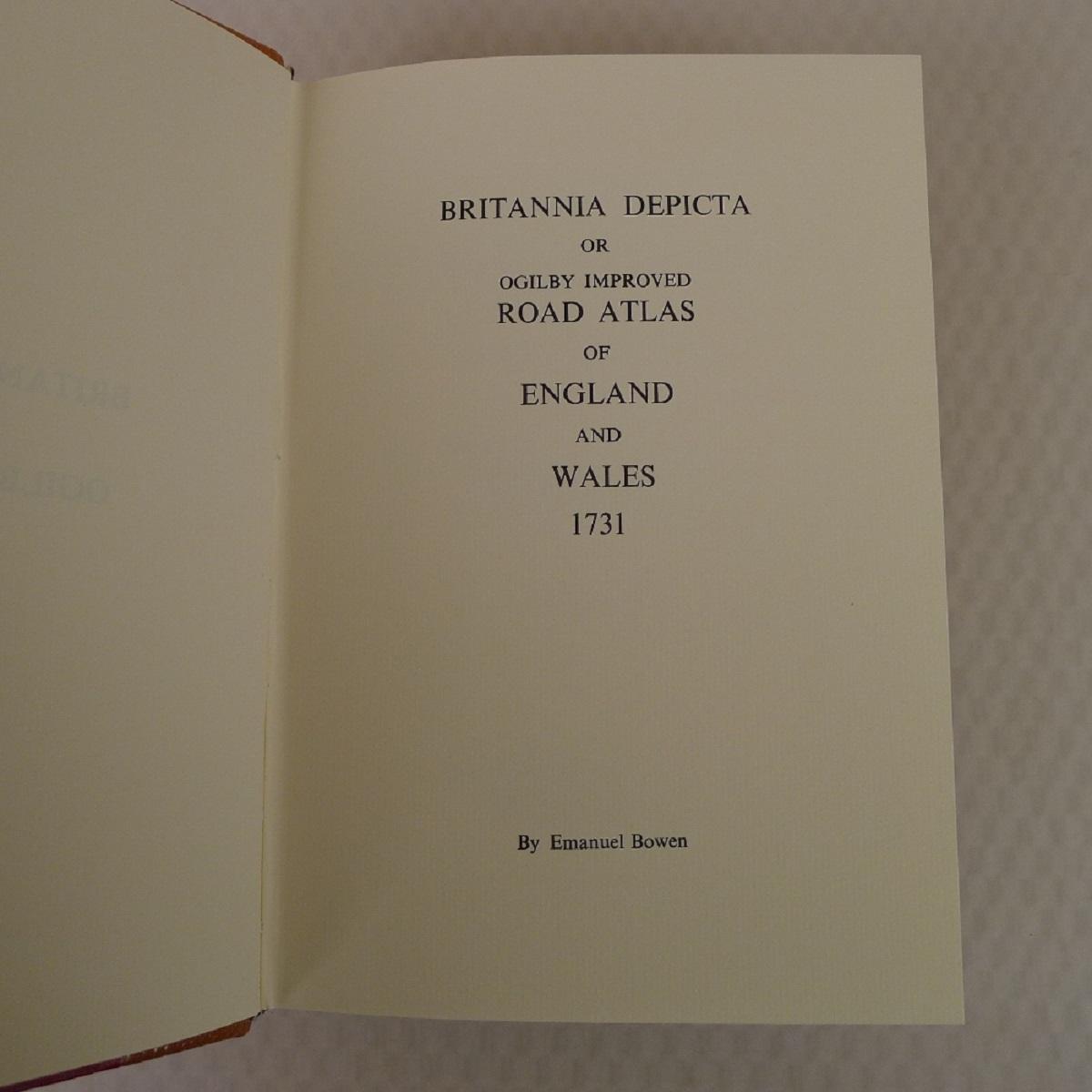A facsimile reprint of Britannia Depicta 1731 by Emmanuel Bowen published by Britannia - Image 4 of 7