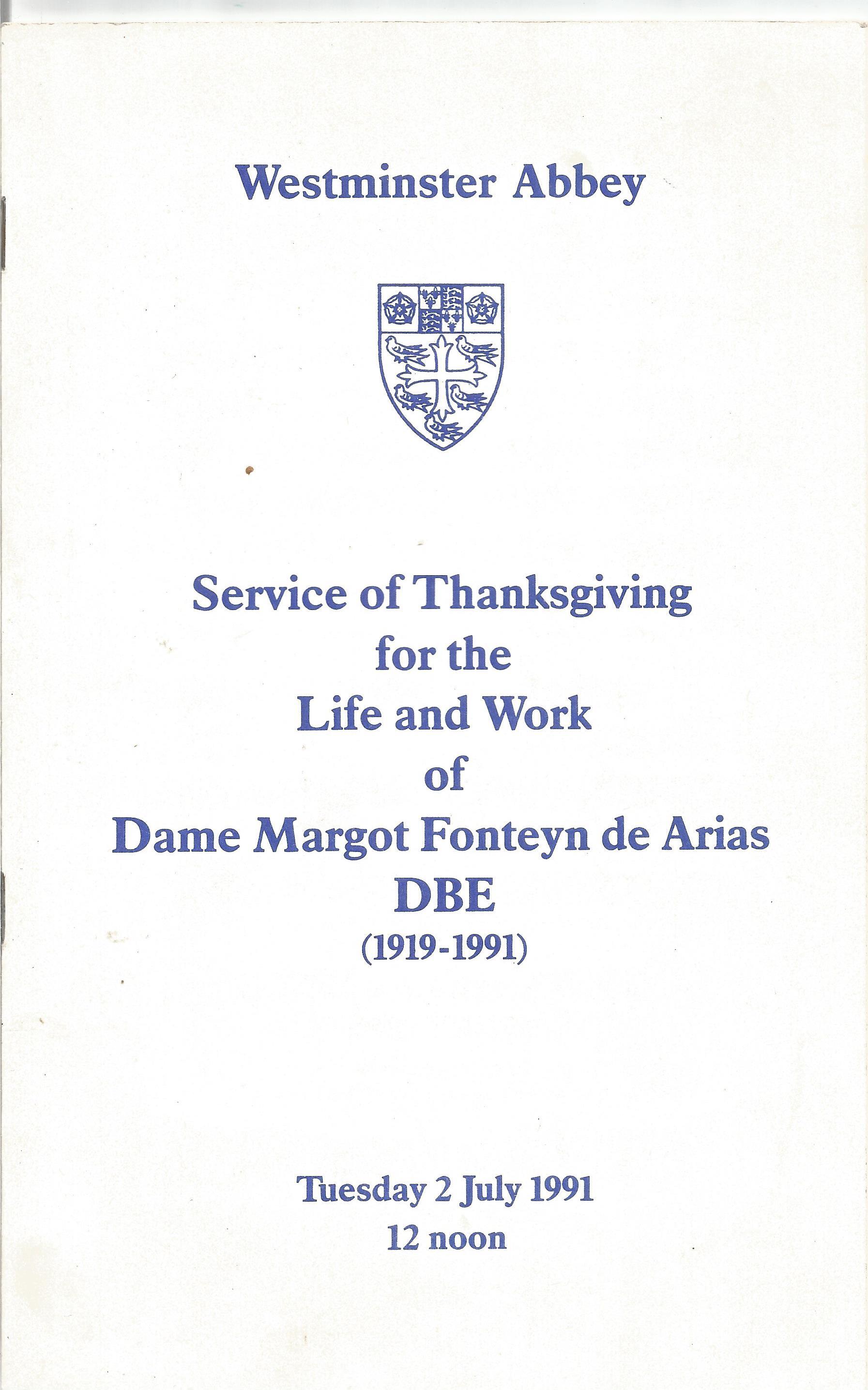 Opera in House Brochure A Dance Spectacular In Tribute to Dame Alicia Markova DBE 1990 Sadler's - Image 4 of 4