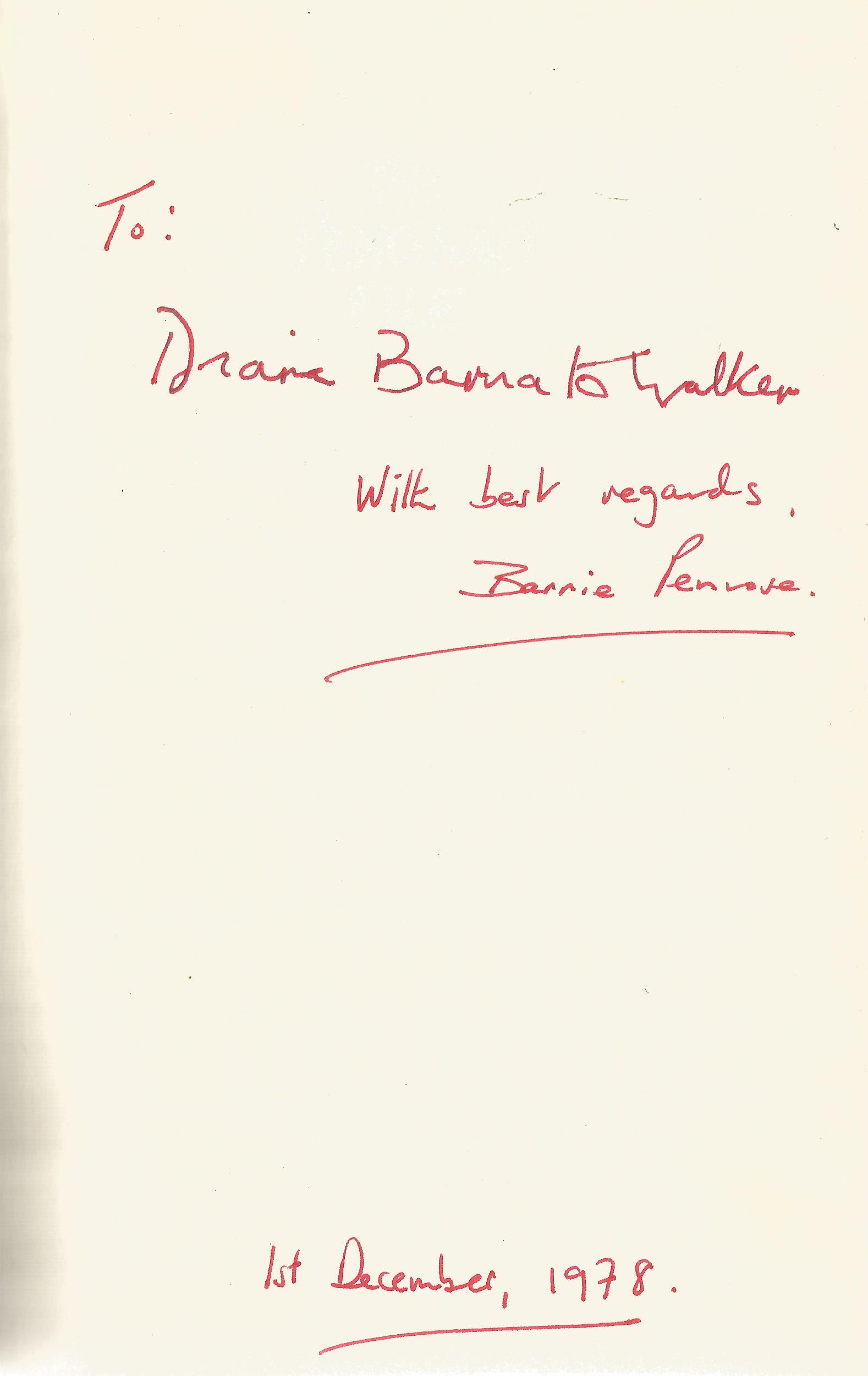 Barnie Penrose and Roger Courtiour Hardback Book The Pencourt File signed by Barnie Penrose on the - Image 2 of 2