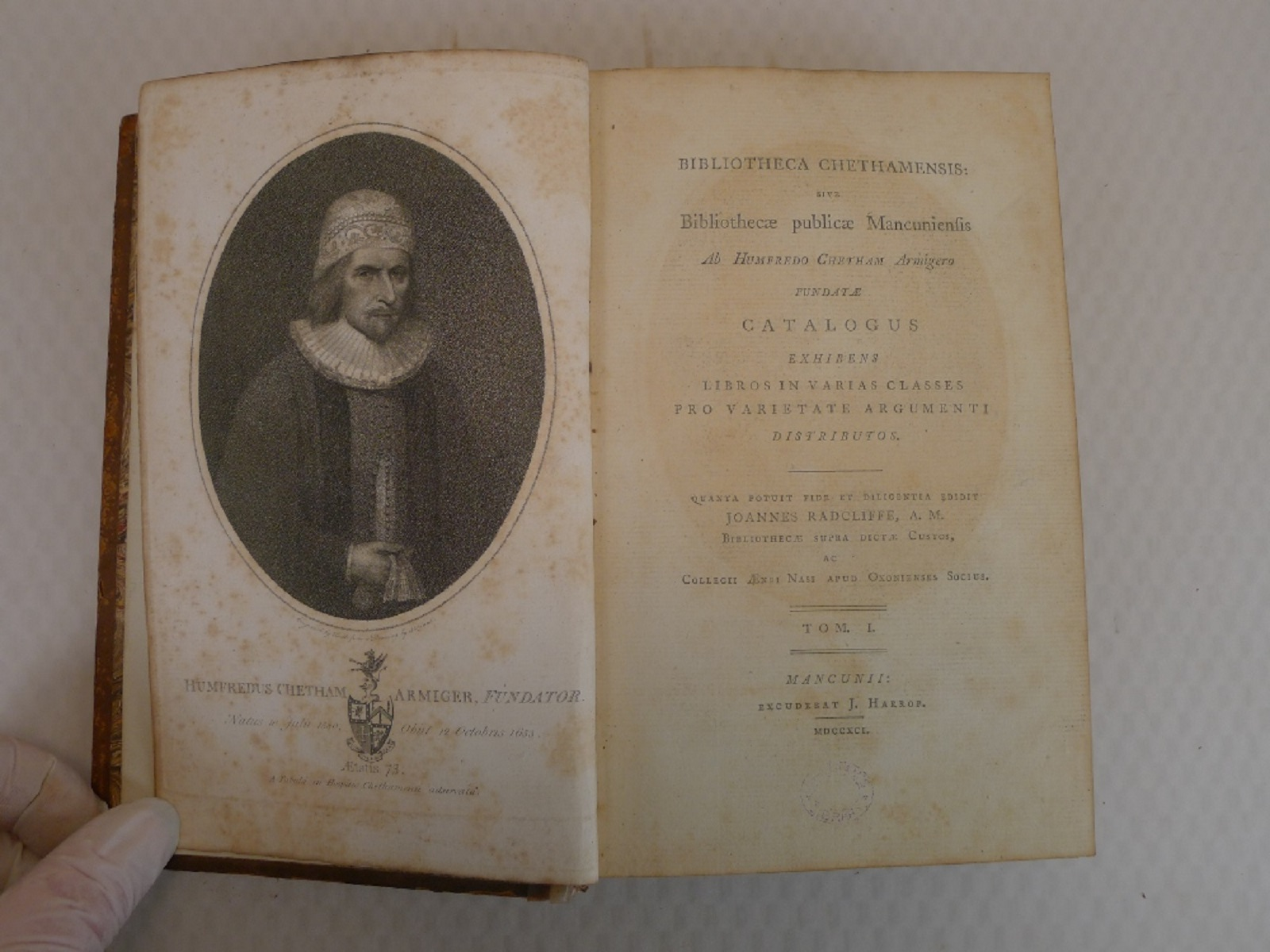 Volumes 1, 2, 3 and 6 of Bibliotheca Chethamensis (Catalogues of Books and Manuscripts) for the - Image 5 of 19