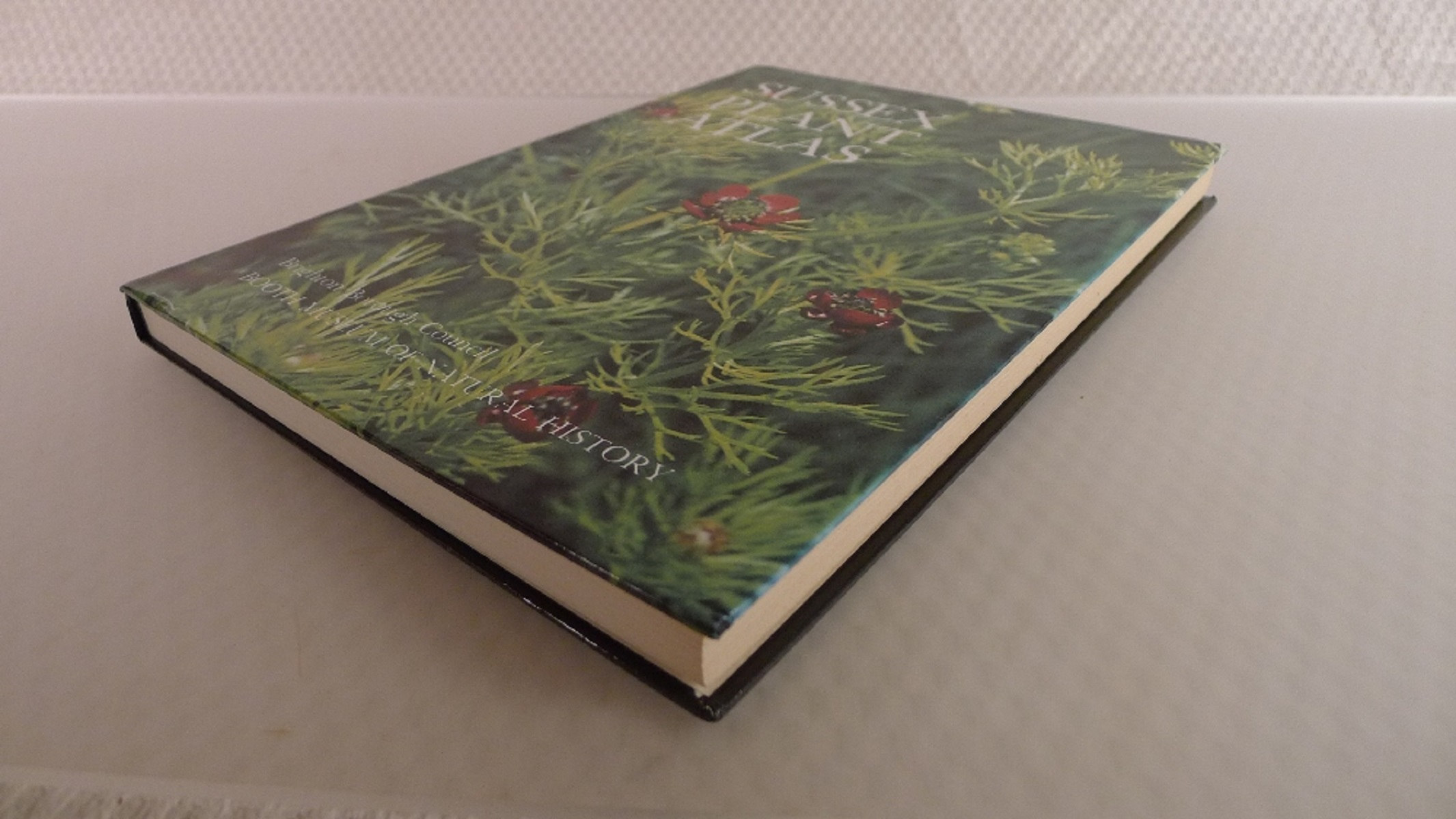 Sussex Plant Atlas by P C Hall published by Brighton Borough Council and Booth Museum of Natural - Image 3 of 4