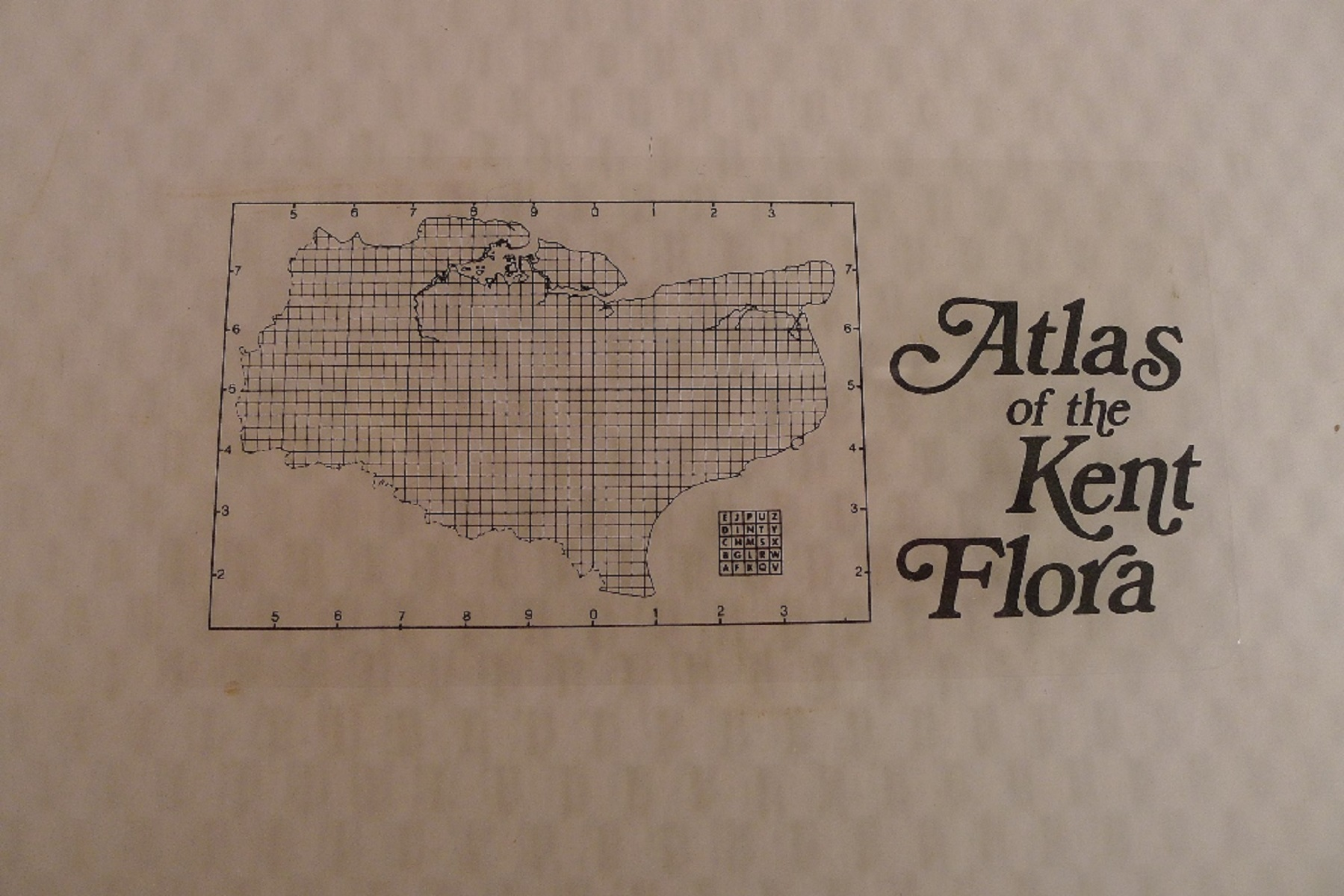 Atlas of The Kent Flora by Eric G Philp published by The Kent Field Club 1982 First Edition large - Image 7 of 7