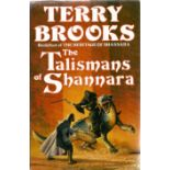 Terry Brooks Hardback Book The Talismans of Shannara signed by the Author on the Title Page and