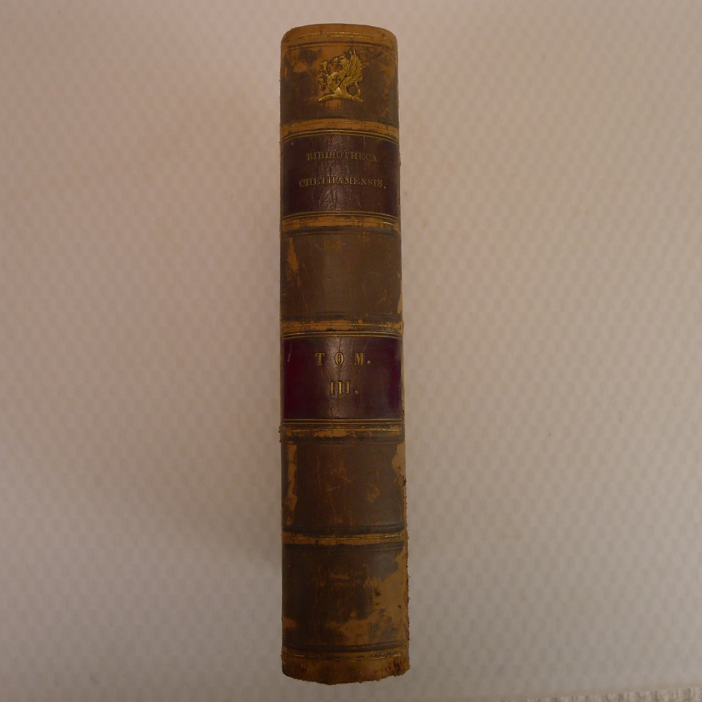 Volumes 1, 2, 3 and 6 of Bibliotheca Chethamensis (Catalogues of Books and Manuscripts) for the - Image 12 of 19