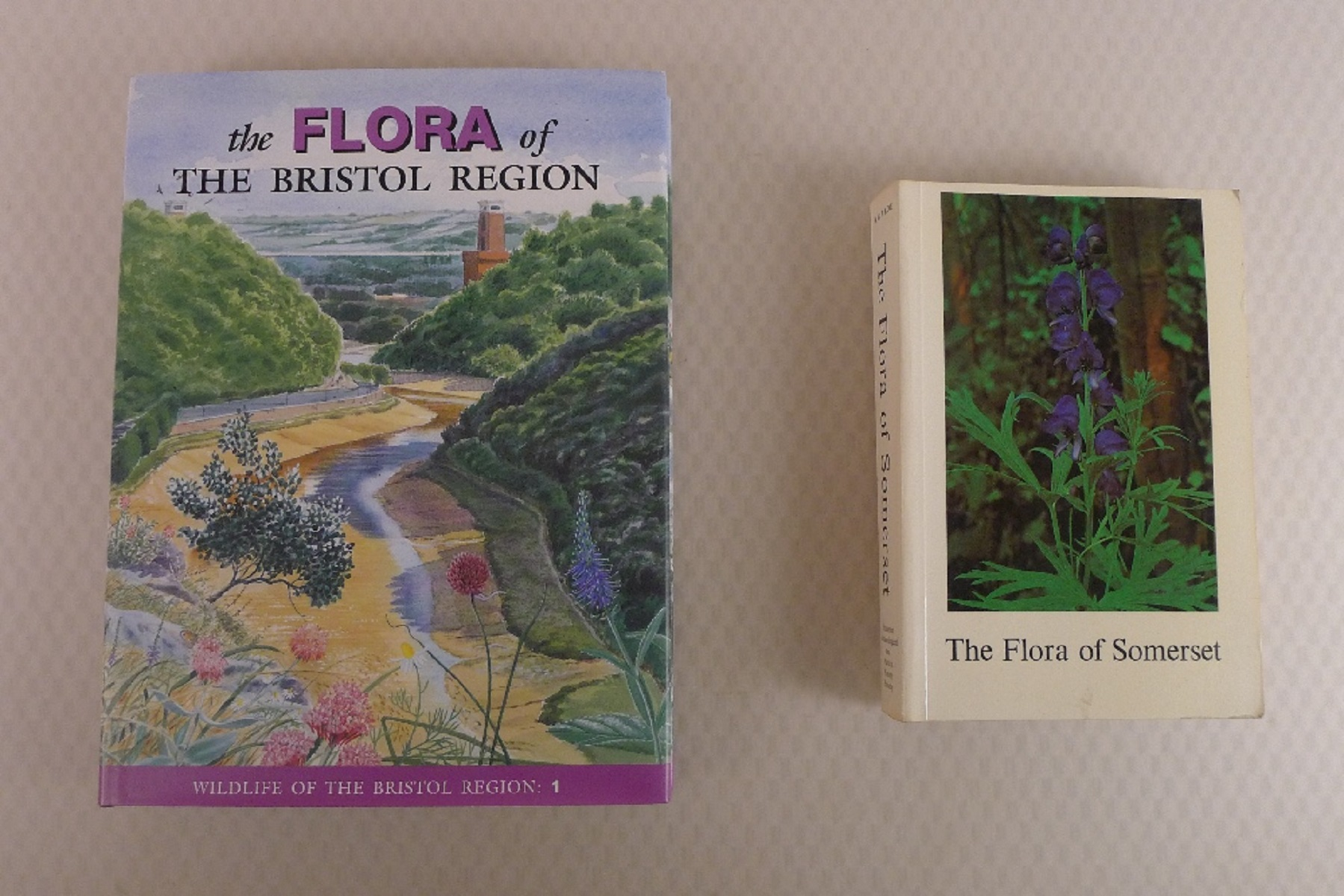 2 Books The Flora of The Bristol Region by Ian Green, Rupert Higgins, Clare Kitchen and Mark Kitchen