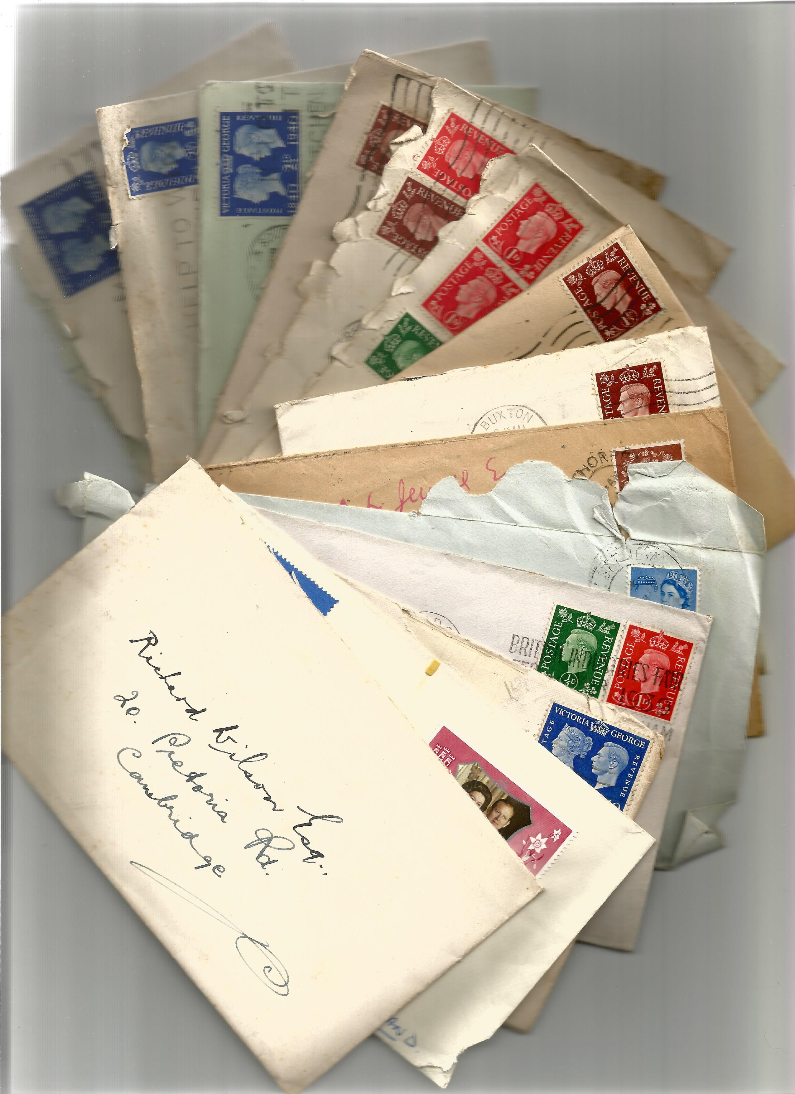 1940s 1960s Personal Correspondence Collection with good used Stamps and possible Interesting - Image 2 of 4