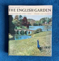 Signed Hardback Book The English Garden by Edward Hyams Signed by Diana Barnato Walker MBE this Book