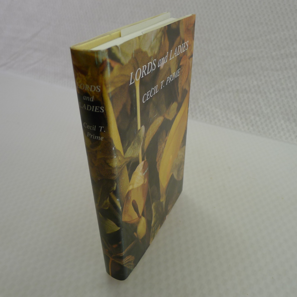 Lords and Ladies by Cecil T Prime published by Collins London 1981 A New Naturalist Special Volume