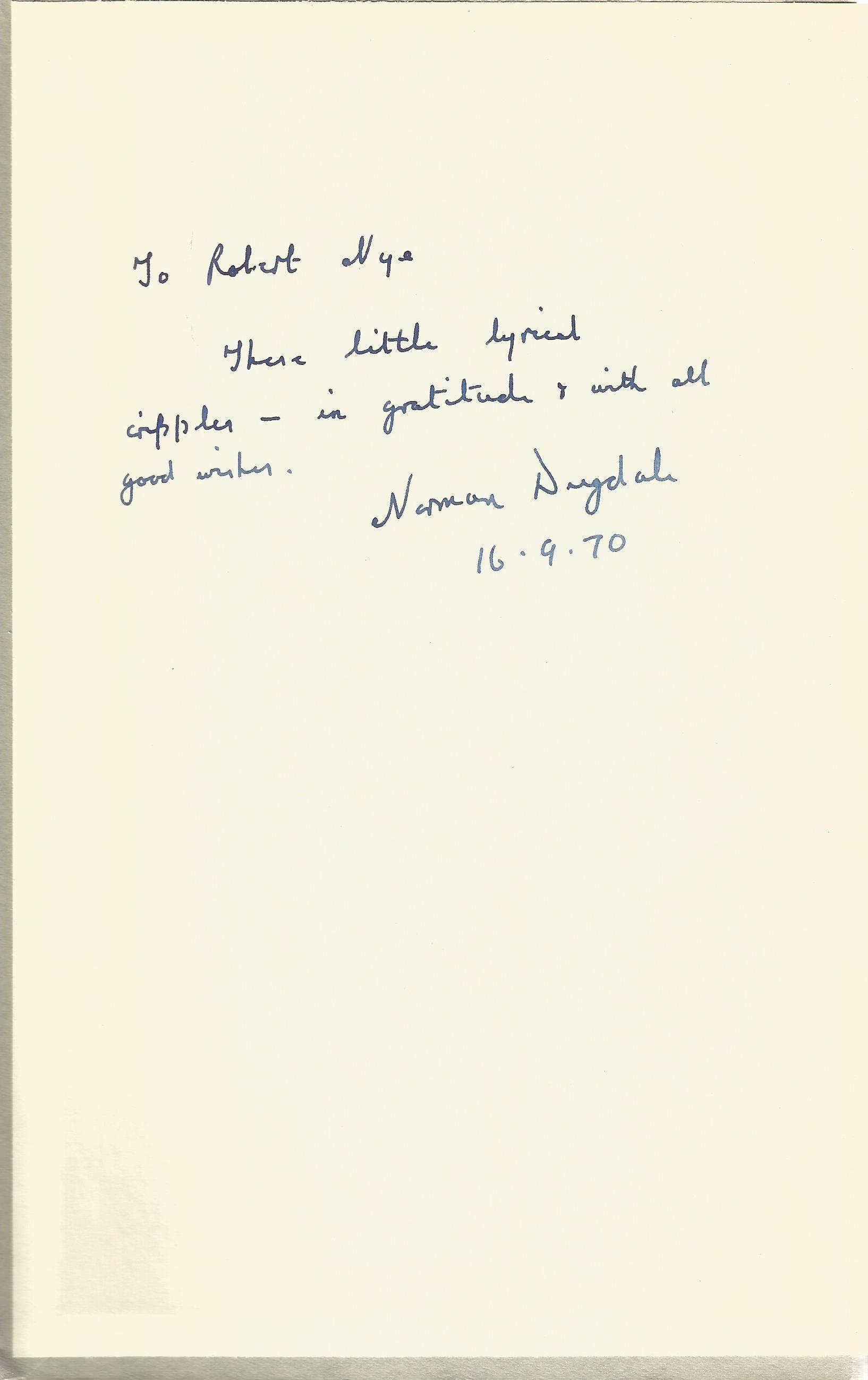 Norman Dugdale Hardback Book A Prospect of the W signed by the Author on the inside Front cover - Image 2 of 3