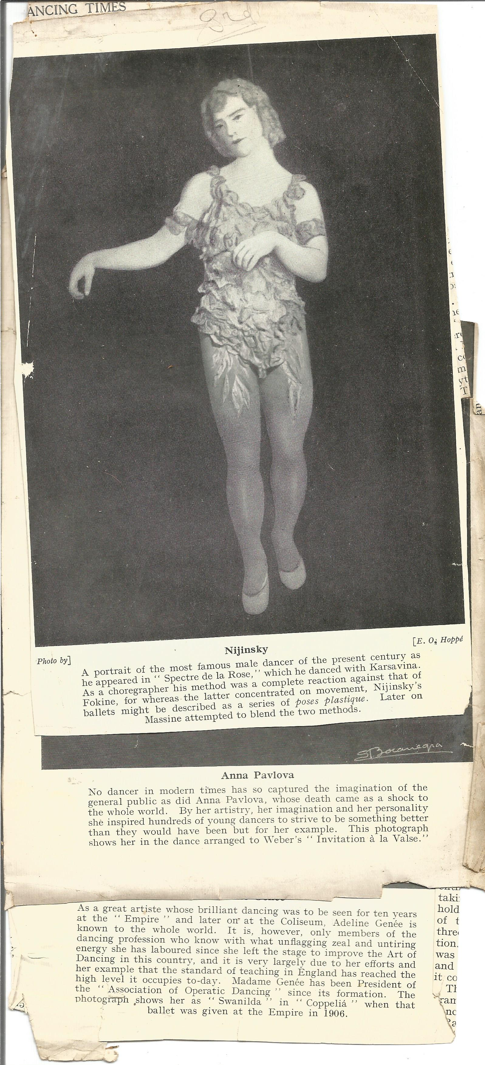 Signed Hardback Book Theory & Practice of Classical Theatrical Dancing Cyril W Beaumont & - Image 4 of 5