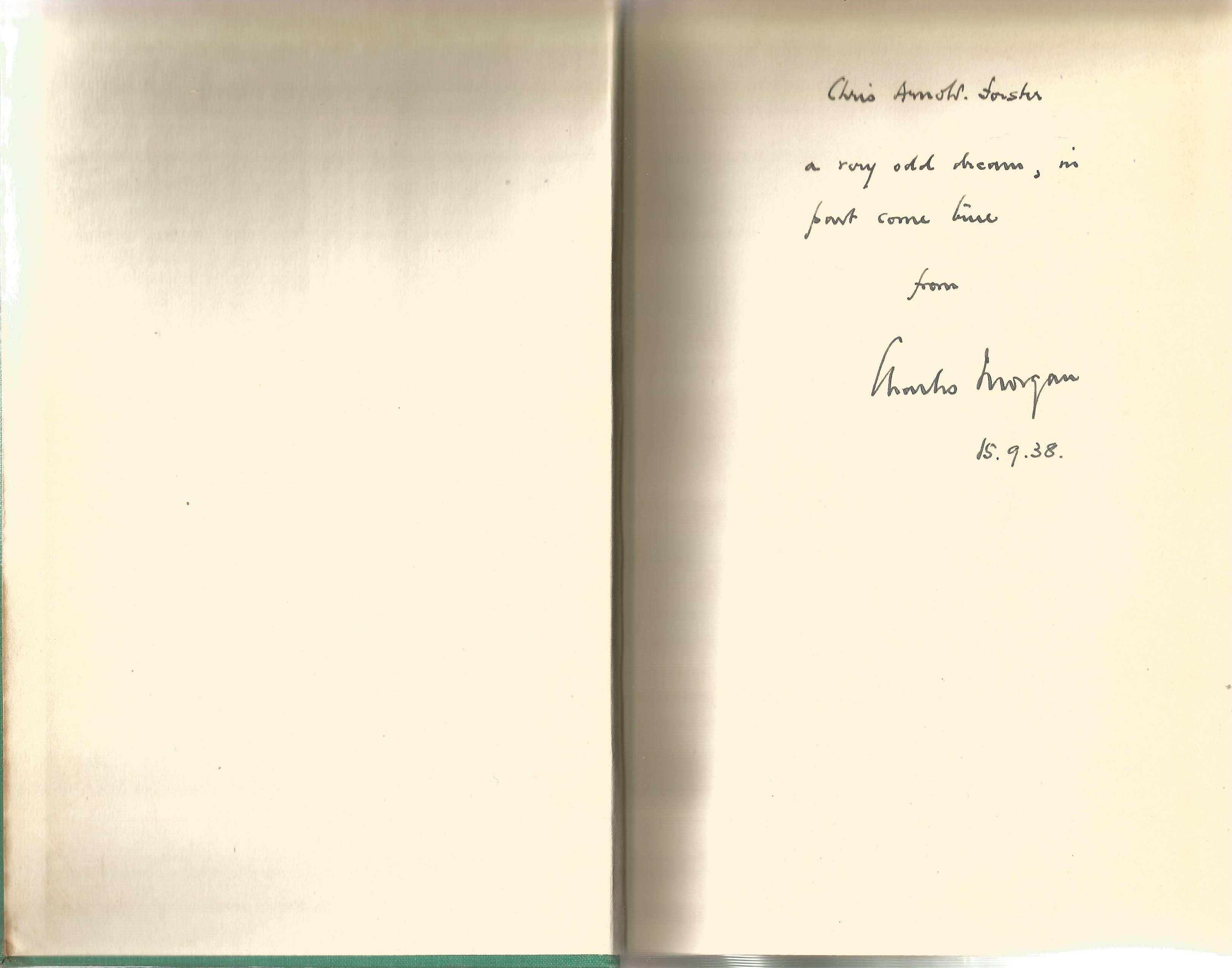 Charles Morgan Hardback Book The Flashing Stream A Play 1938 signed by the Author on the First - Image 2 of 2
