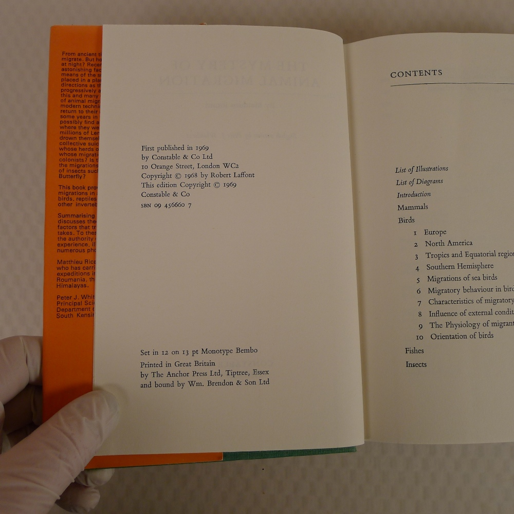 4 x various vintage hardback nature animal books comprising The Land and Freshwater Molluscs of - Image 7 of 13