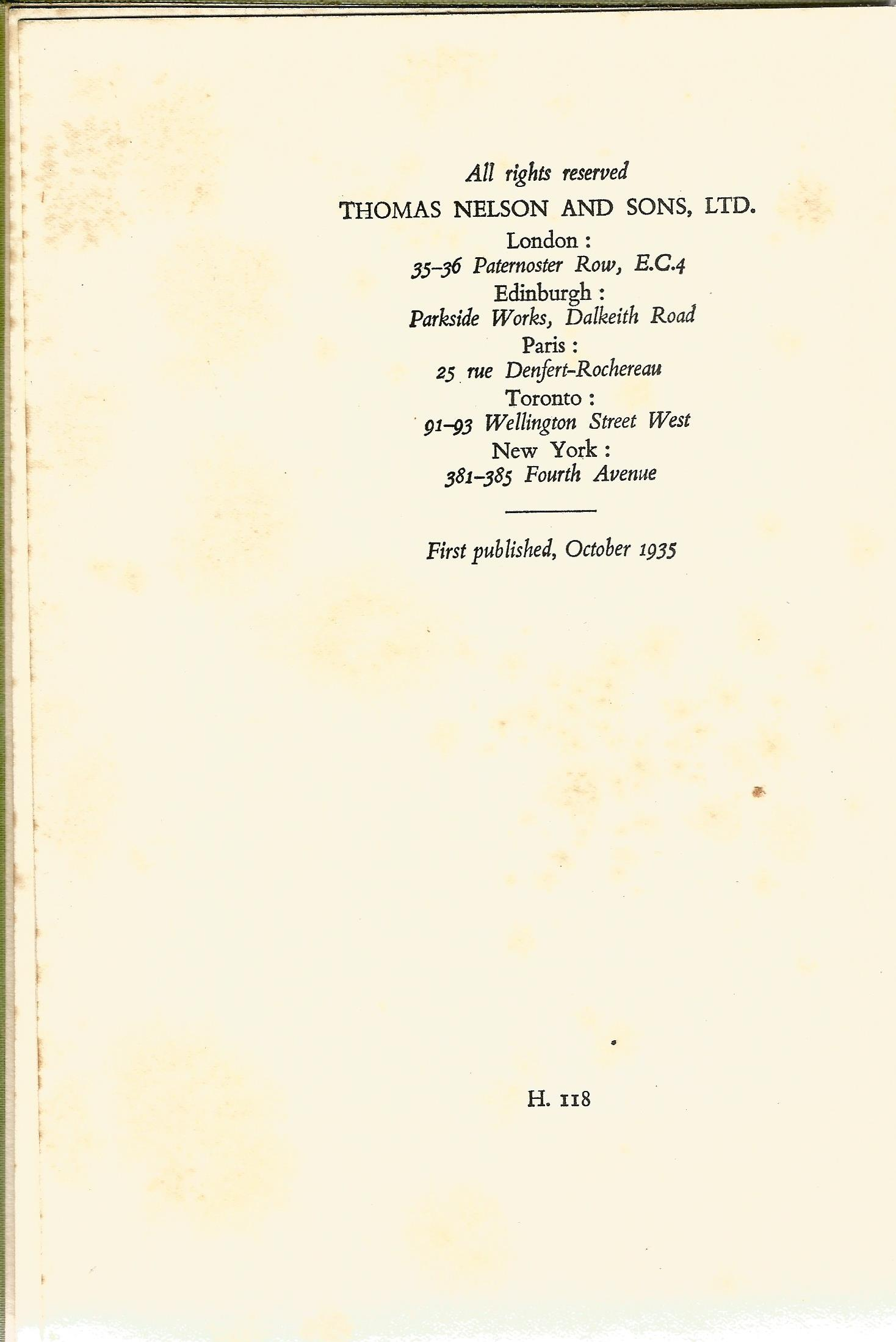 2 Hardback Books Half Breed by Lovat Dickson 1939 Grey Owl and the Beaver by Harper Cory 1935 - Image 6 of 7