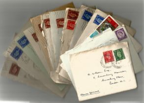 1940s 1960s Personal Correspondence Collection with good used Stamps and possible Interesting