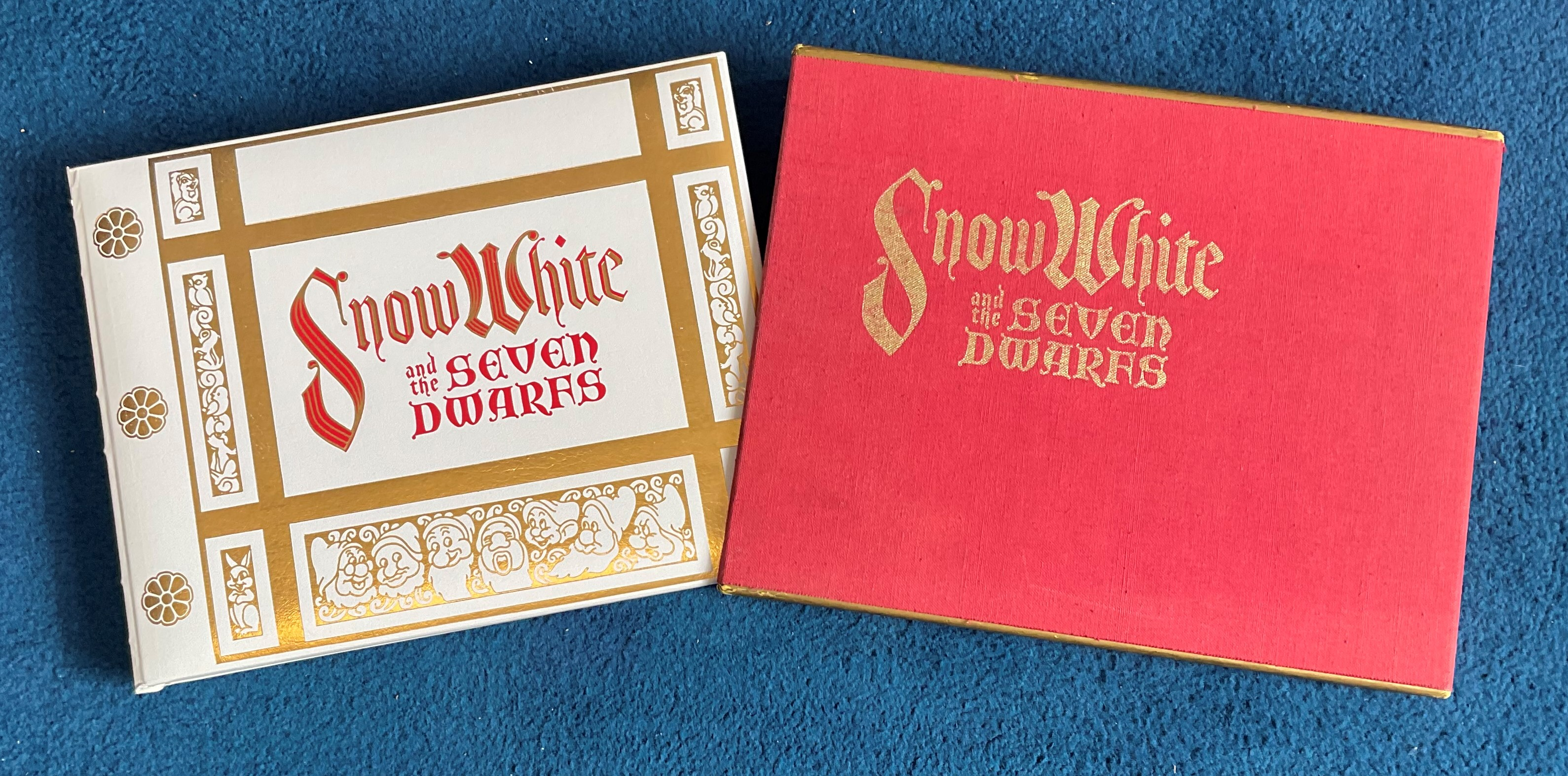 Hardback Book with slipcase Snow White and the Seven Dwarfs by Walt Disney Productions Limited