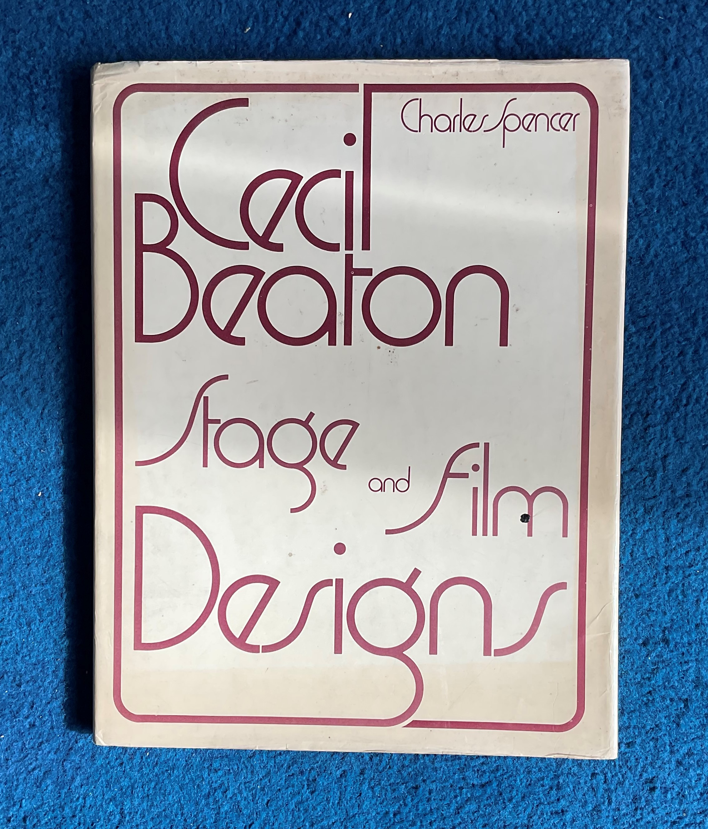 Hardback Book Cecil Beaton Stage and Film Designs by Charles Spencer 1975 First Edition published by