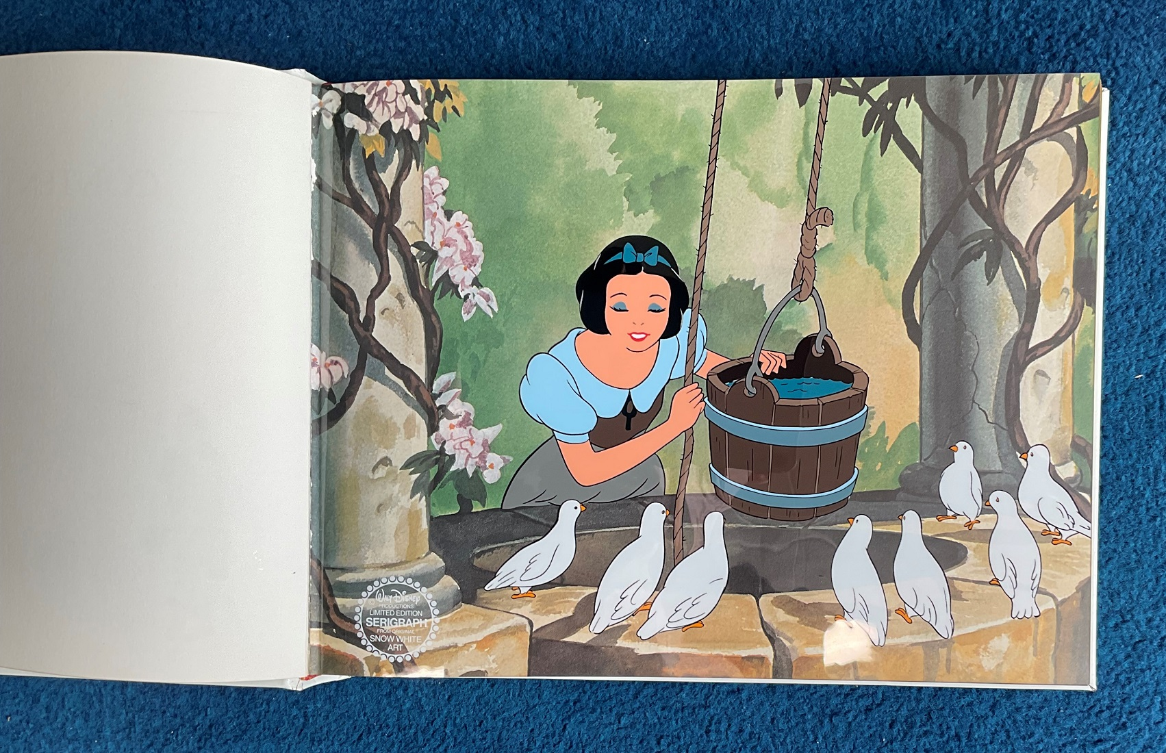 Hardback Book with slipcase Snow White and the Seven Dwarfs by Walt Disney Productions Limited - Image 4 of 4