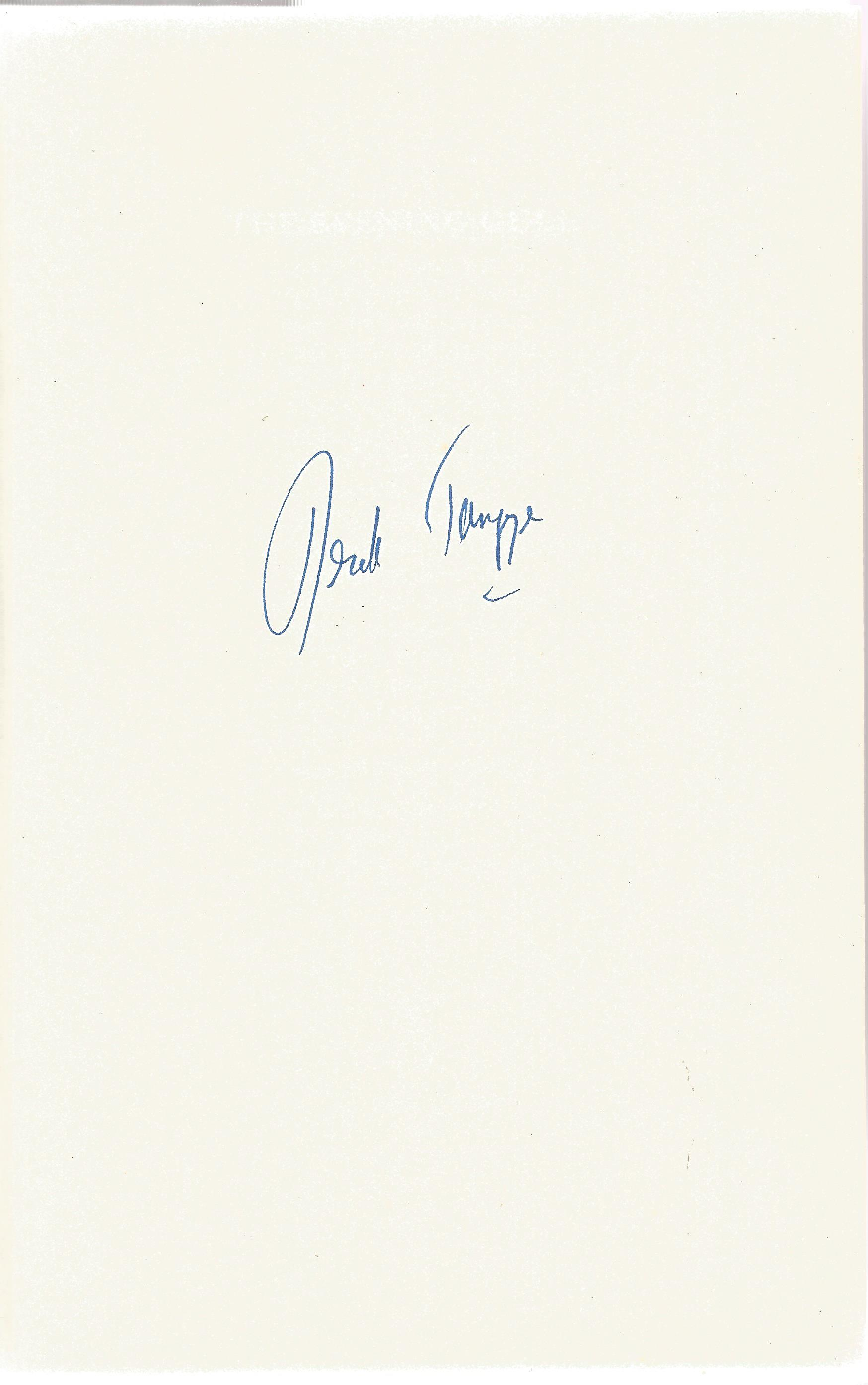 Derek Tangye Hardback Book The Evening Cull signed by the Author on the First Page First Edition - Image 2 of 2