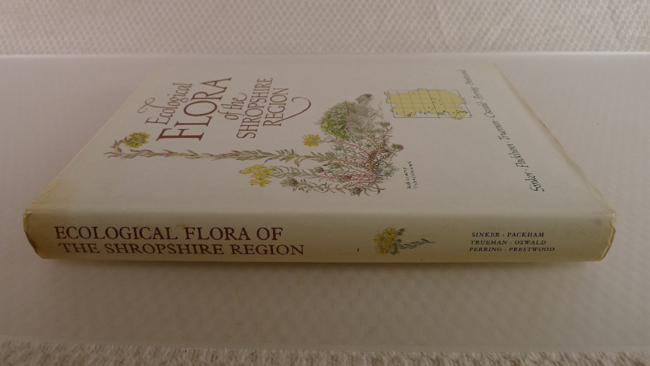Ecological Flora of the Shropshire region by Sinker, Packham, Trueman, Oswald, Perring and Prestwood - Image 2 of 5