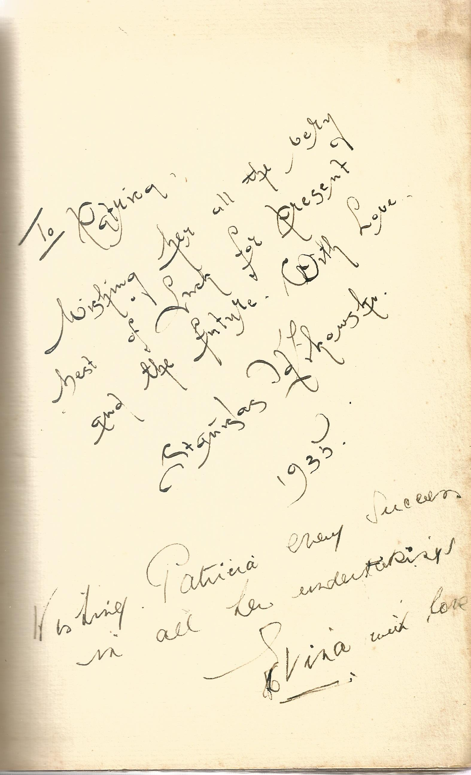 Signed Hardback Book Theory & Practice of Classical Theatrical Dancing Cyril W Beaumont & - Image 3 of 5