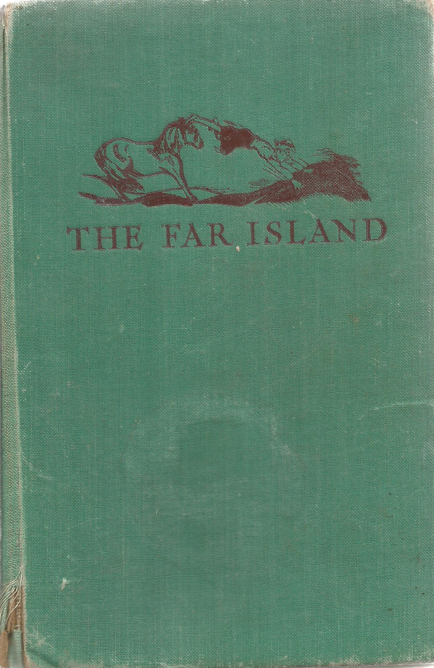 Hardback Book The Far Island A Story for Girls and Boys by M Pardoe Illustrated by R Turvey 1936
