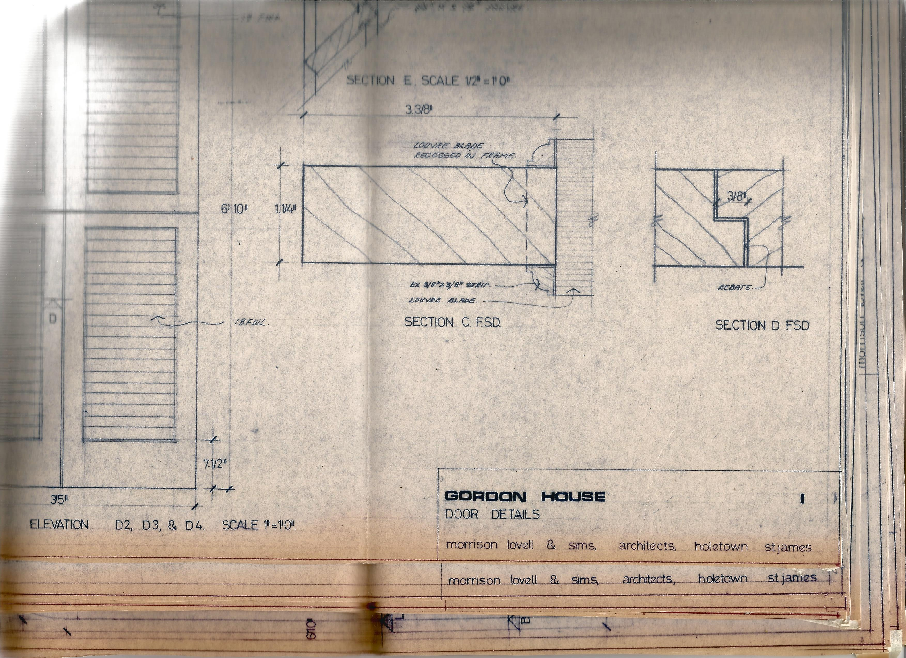 Architectural Drawings & Diagrams for Alterations at Bath Assembly Rooms in the 1960s Includes - Image 11 of 16