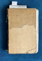 Victorian Scrapbook 1850s onwards containing a mixture of items Letters, Flyers, Photos &