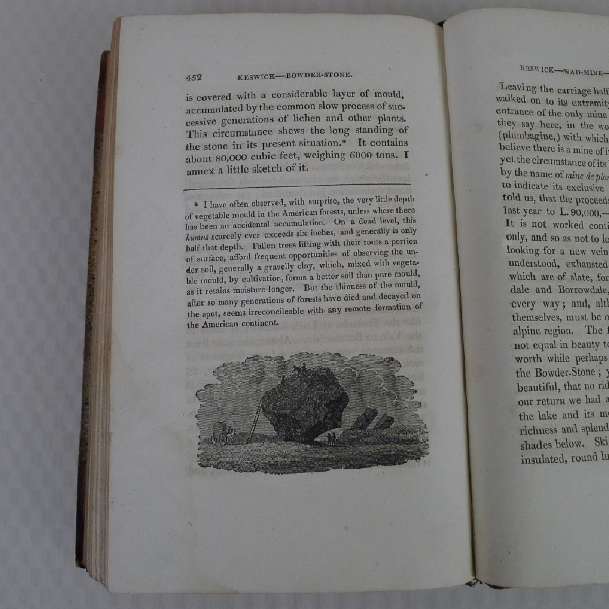 Simond's Travels in Great Britain Volumes I and II, Second Edition published in 1817, being a - Image 9 of 9