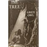 Hardback Book The Tree by Grey Owl (Wa Sha Quon Asin) 1937 First Edition published by Lovat
