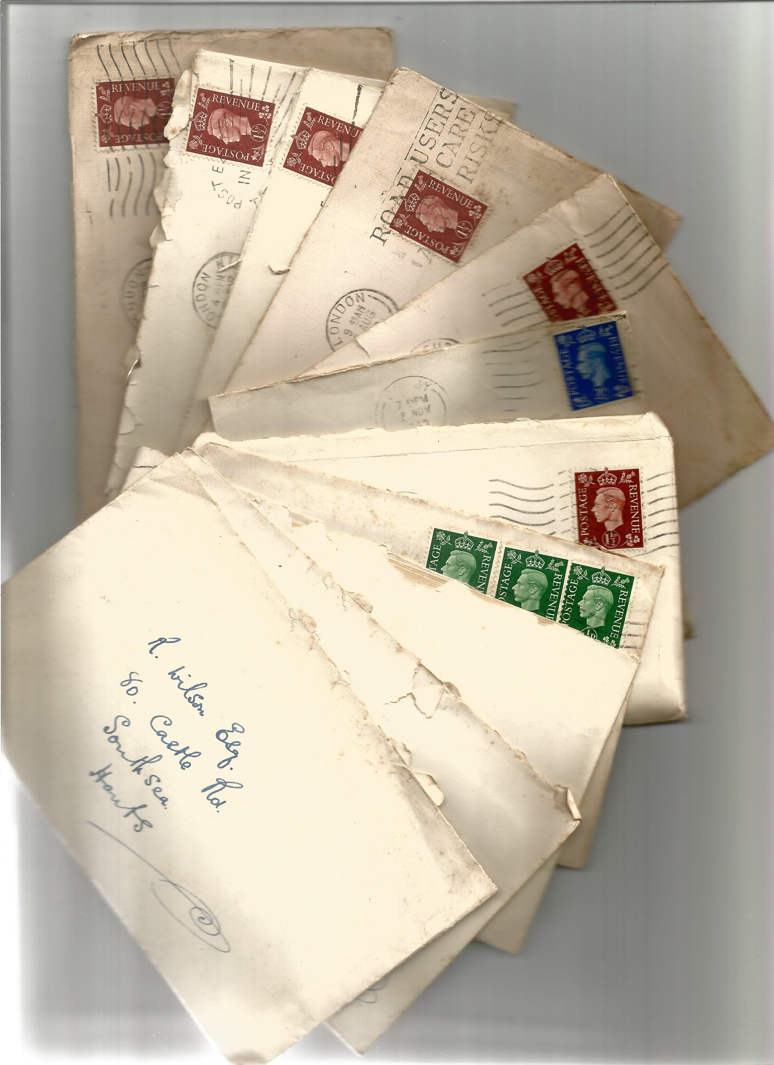1940s 1960s Personal Correspondence Collection with good used Stamps and possible Interesting - Image 3 of 4