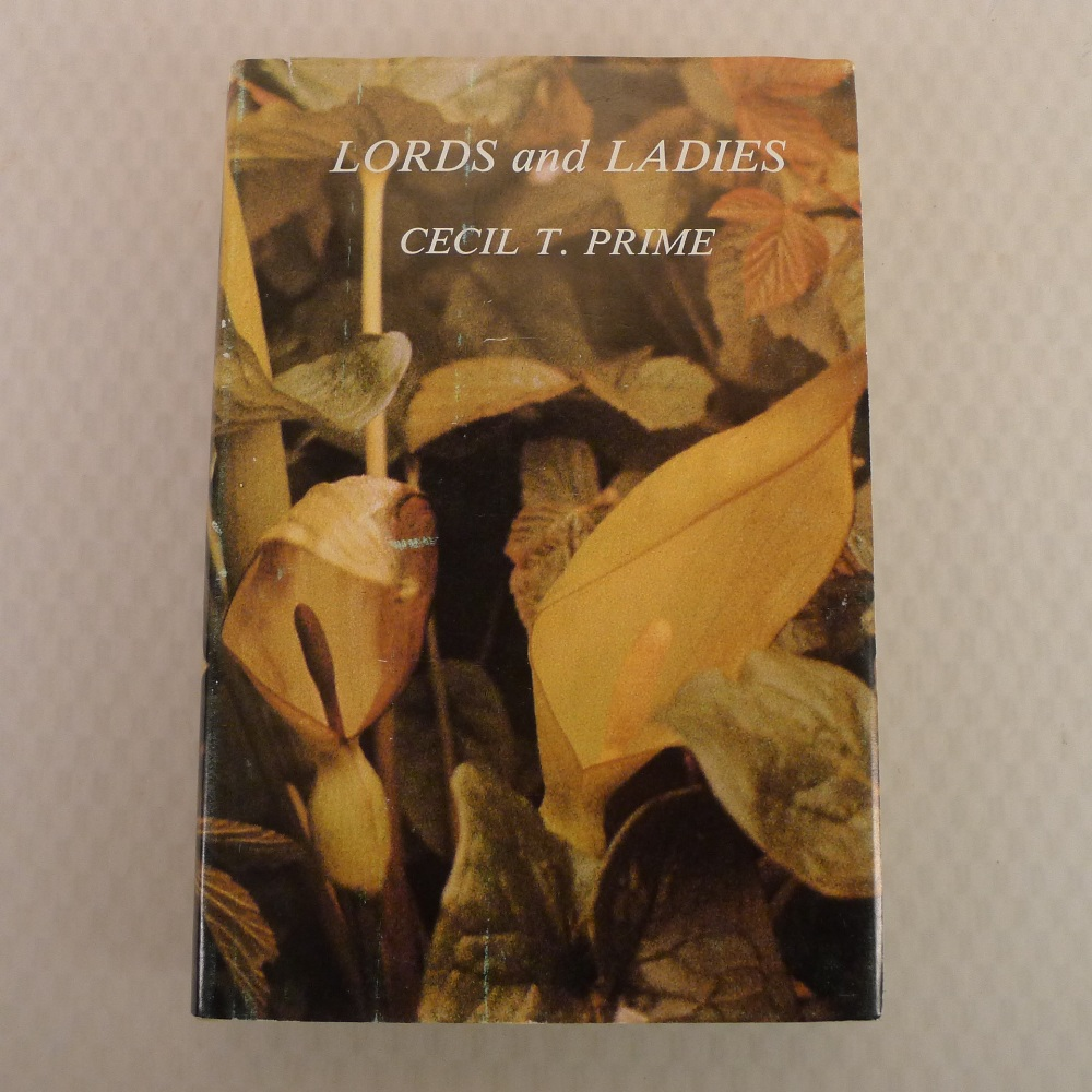 Lords and Ladies by Cecil T Prime published by Collins London 1981 A New Naturalist Special Volume - Image 3 of 6