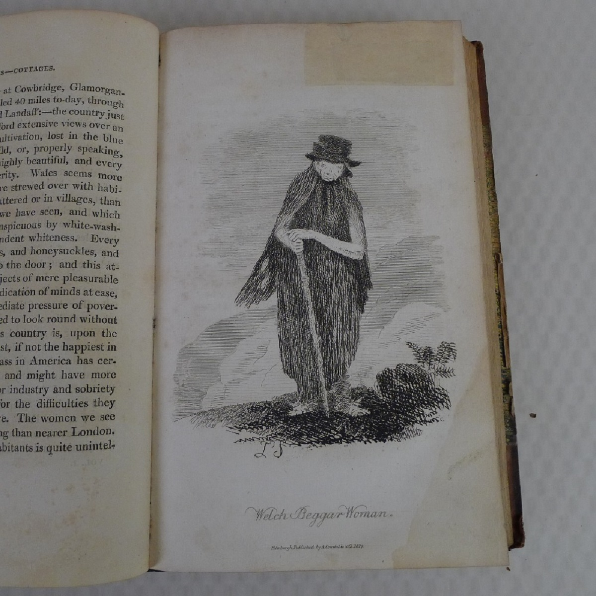 Simond's Travels in Great Britain Volumes I and II, Second Edition published in 1817, being a - Image 7 of 9