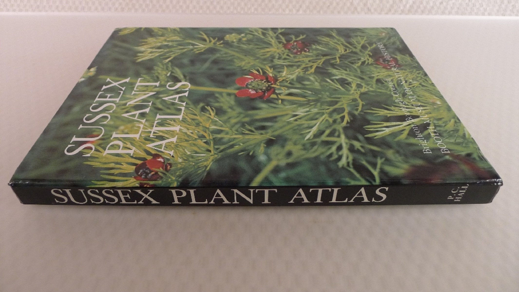 Sussex Plant Atlas by P C Hall published by Brighton Borough Council and Booth Museum of Natural - Image 2 of 4