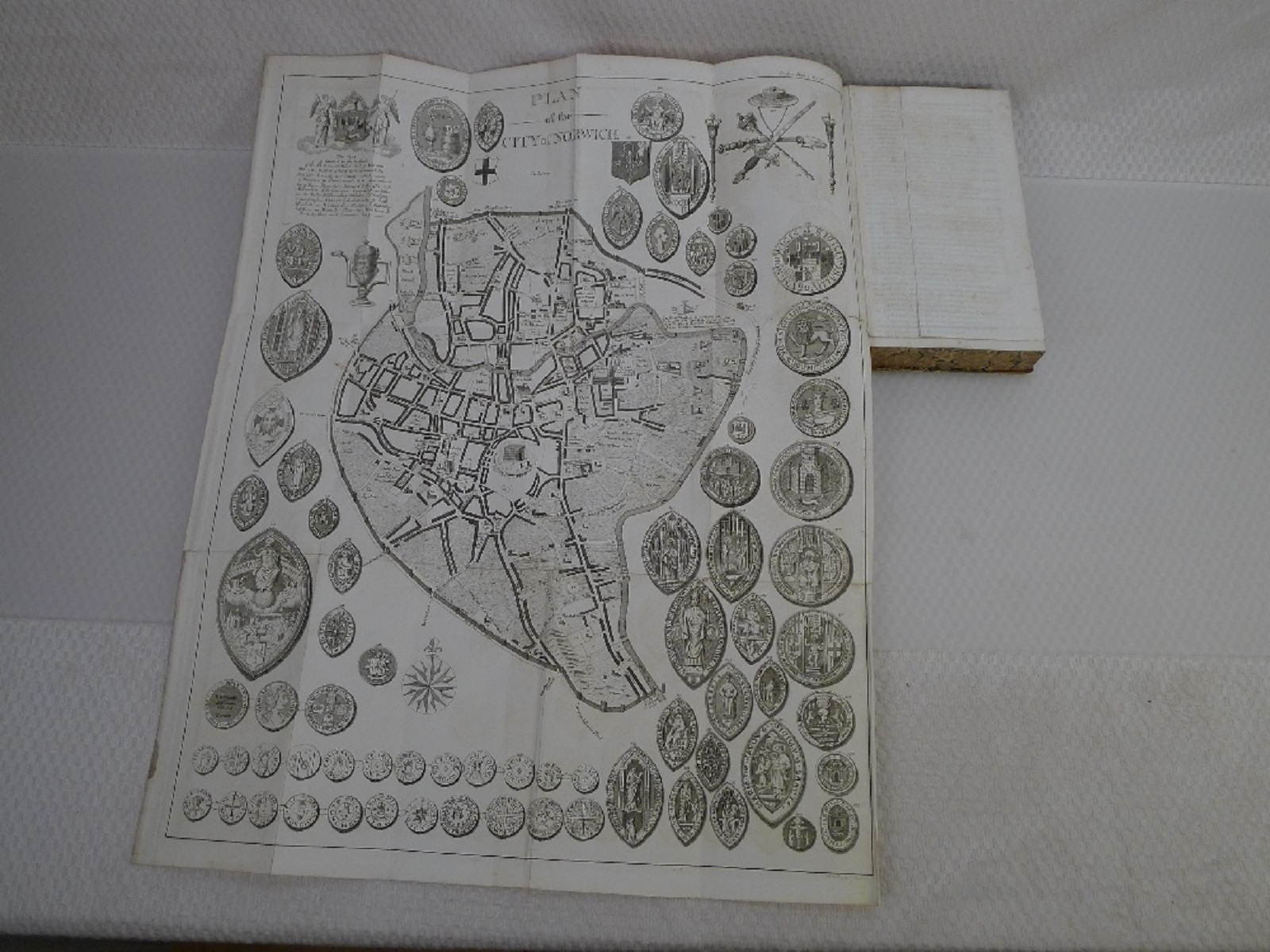 All 11 volumes of An Essay Towards the Topographical History of the County of Norfolk by Thomas - Image 12 of 23