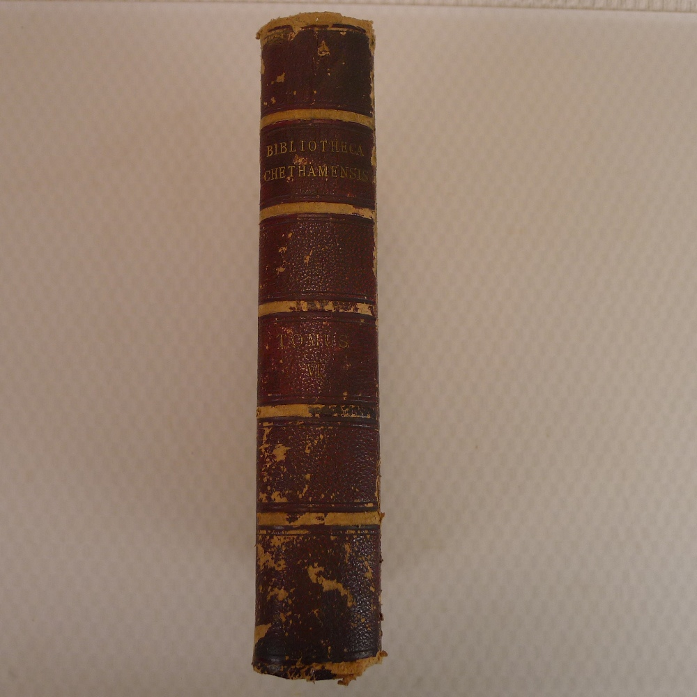 Volumes 1, 2, 3 and 6 of Bibliotheca Chethamensis (Catalogues of Books and Manuscripts) for the - Image 17 of 19