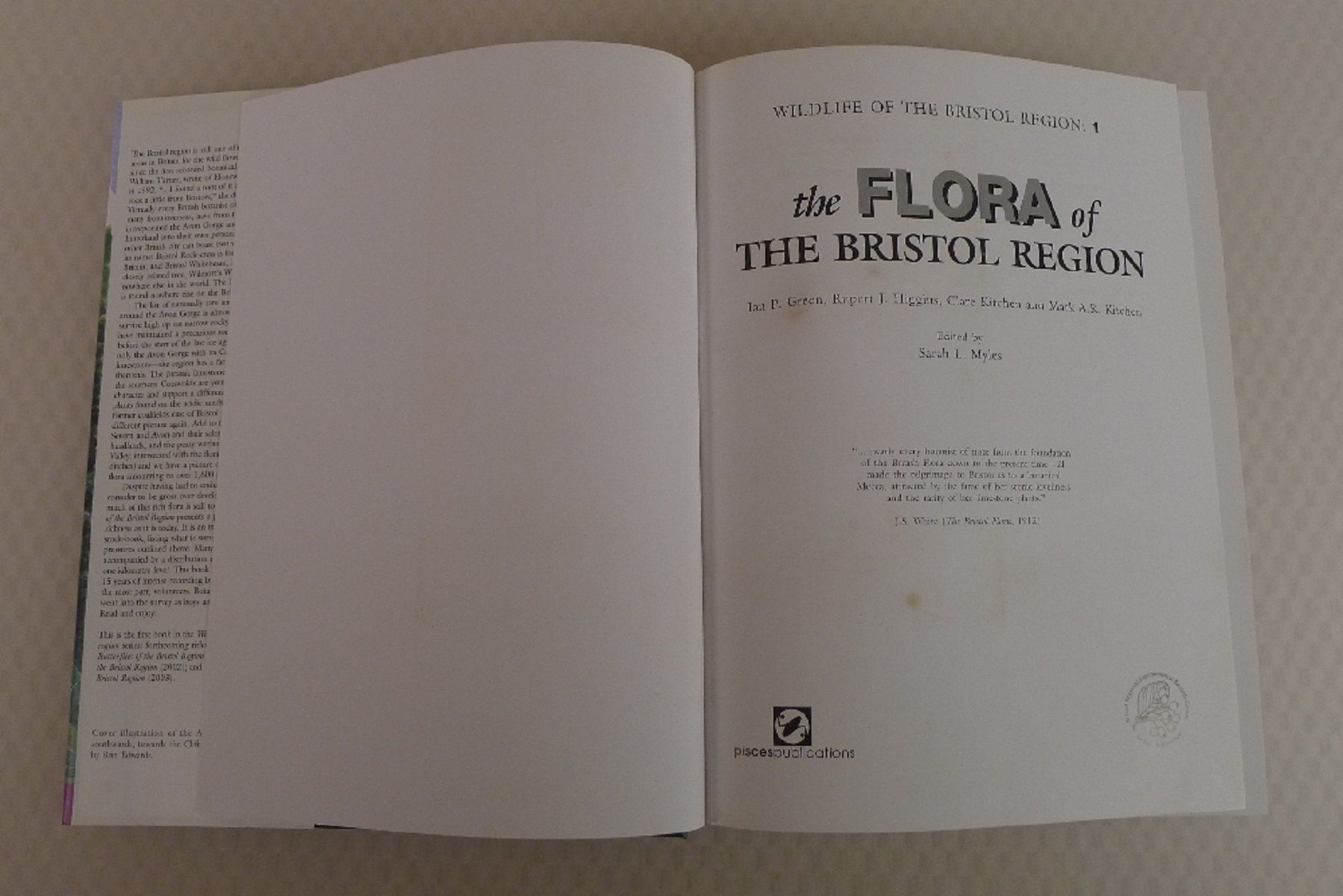 2 Books The Flora of The Bristol Region by Ian Green, Rupert Higgins, Clare Kitchen and Mark Kitchen - Image 4 of 8